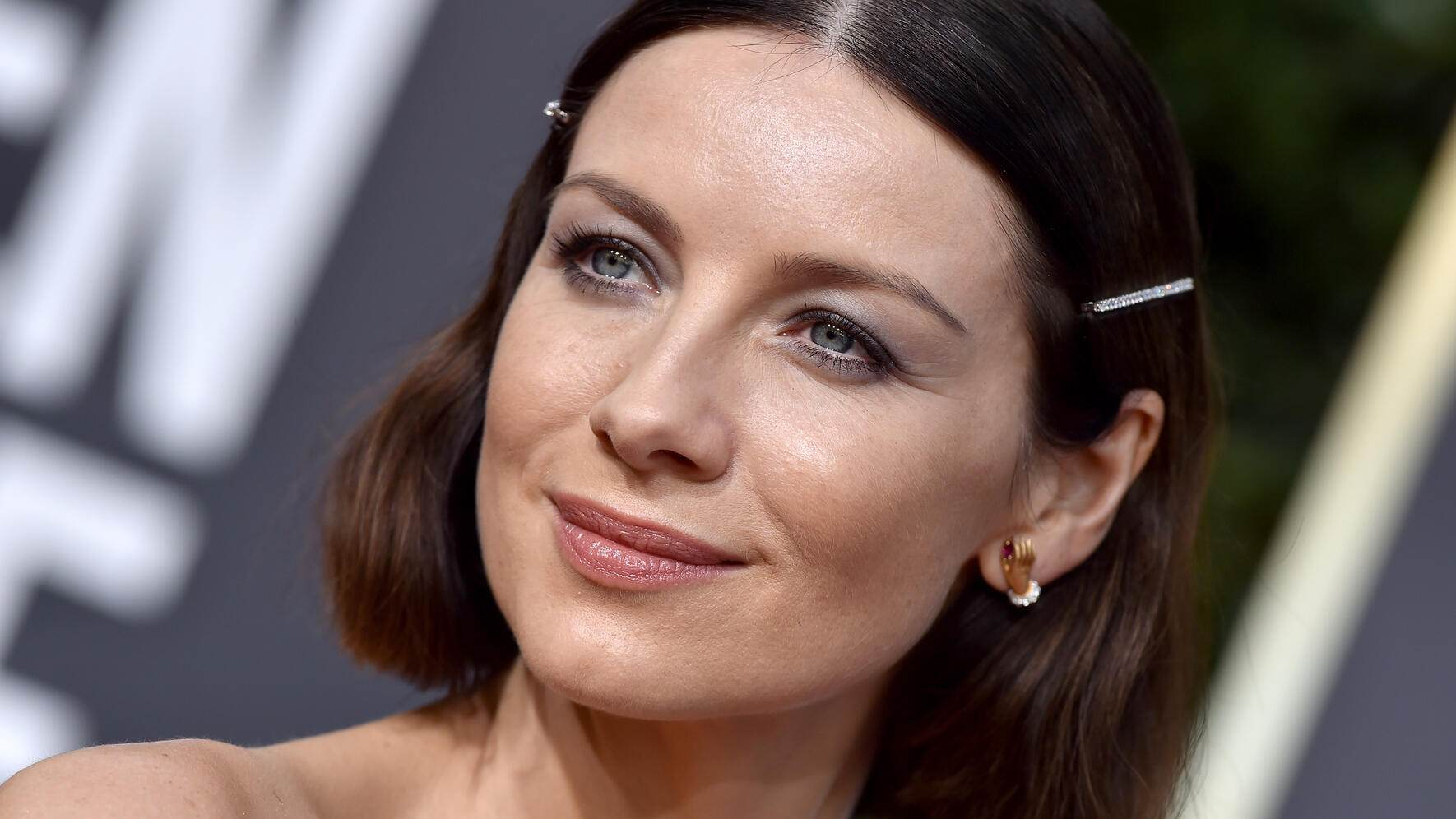 BEVERLY HILLS, CA - JANUARY 06:  Caitriona Balfe attends the 76th Annual Golden Globe Awards at The Beverly Hilton Hotel on January 6, 2019 in Beverly Hills, California.  (Photo by Axelle/Bauer-Griffin/FilmMagic)