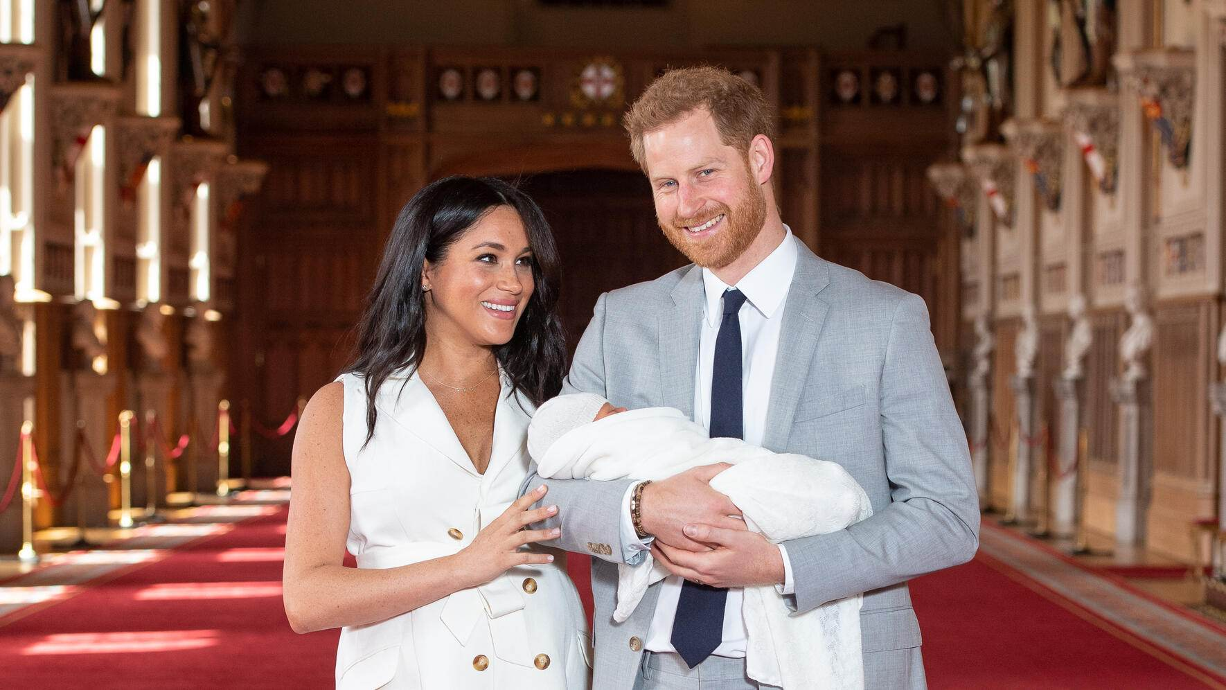 Prinz Harry Herzogin Meghan und Baby Sussex