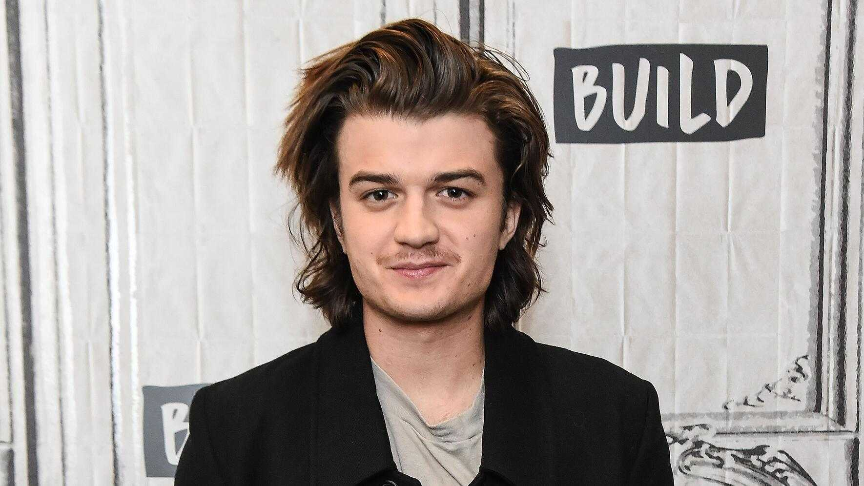 NEW YORK, NY - NOVEMBER 29:  Actor Joe Keery attends the Build Series to discuss the Netflix show 'Stranger Things 2' at Build Studio on November 29, 2017 in New York City.  (Photo by Daniel Zuchnik/WireImage)