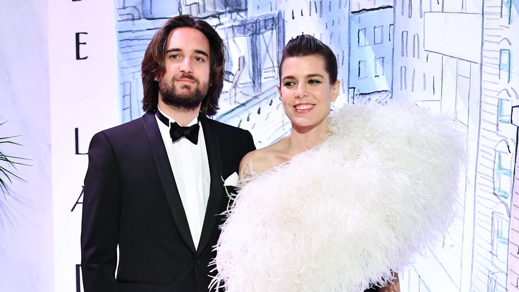 MONTE-CARLO, MONACO - MARCH 24:  Dimitri Rassam and Charlotte Casiraghi arrive at the Rose Ball 2018 To Benefit The Princess Grace Foundation at Sporting Monte-Carlo on March 24, 2018 in Monte-Carlo, Monaco. (Photo by Pascal Le Segretain/ SC Pool - Corbis/Corbis via Getty Images)