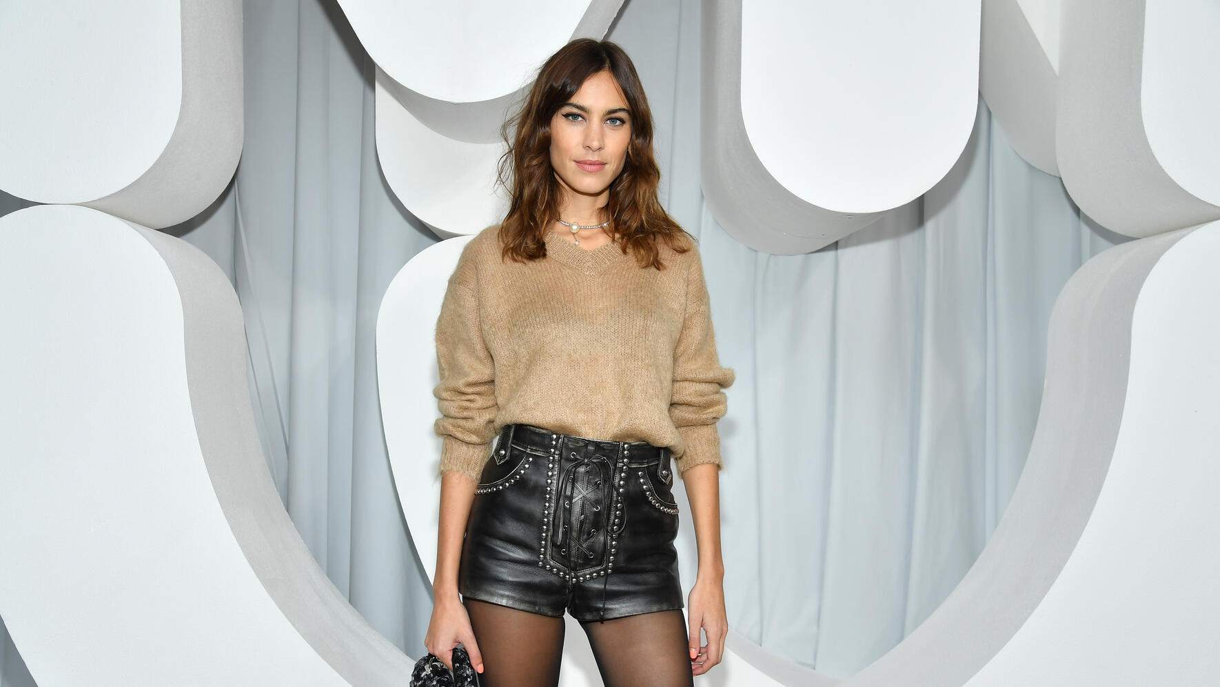 PARIS, FRANCE - OCTOBER 02:  Alexa Chung attends the Miu Miu show as part of the Paris Fashion Week Womenswear Spring/Summer 2019 on October 2, 2018 in Paris, France.  (Photo by Pascal Le Segretain/Getty Images)