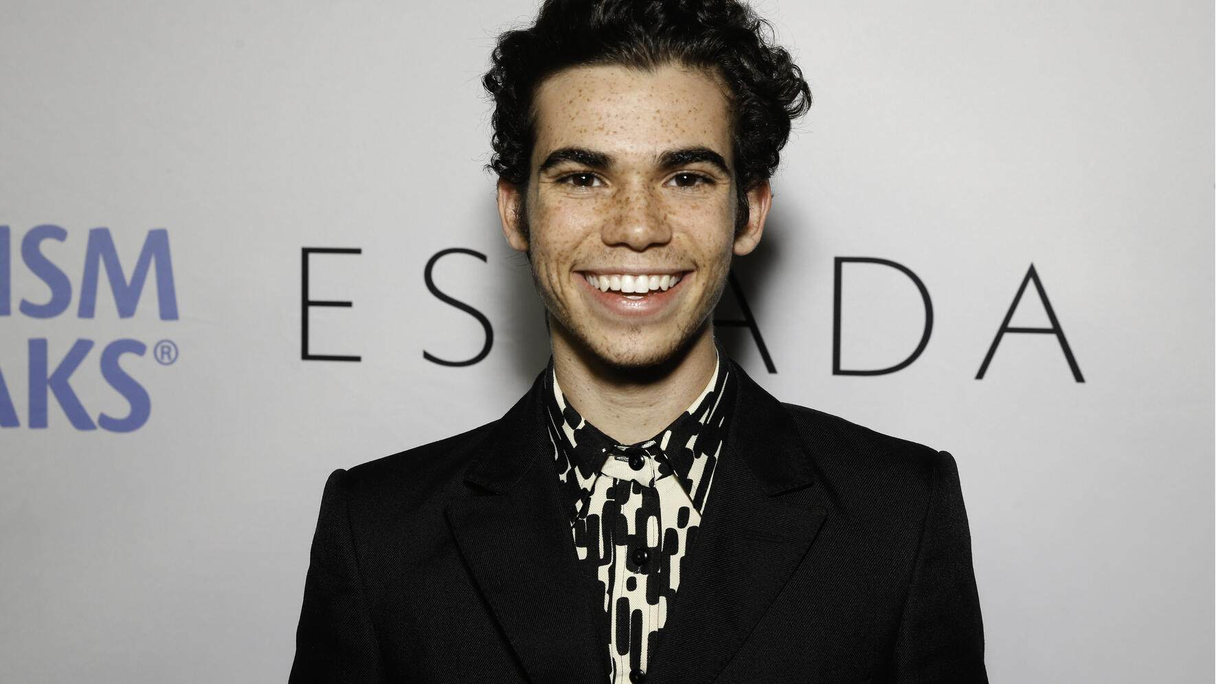 FILE - JULY 07, 2019: Actor Cameron Boyce has died at the age of 20 after suffering from an ongoing medical condition. LOS ANGELES, CA - OCTOBER 21:  Cameron Boyce arrives at Autism Speaks Hosts 'Into The Blue' charity event at Union Station on October 21, 2017 in Los Angeles, California.  (Photo by Rochelle Brodin/Getty Images)