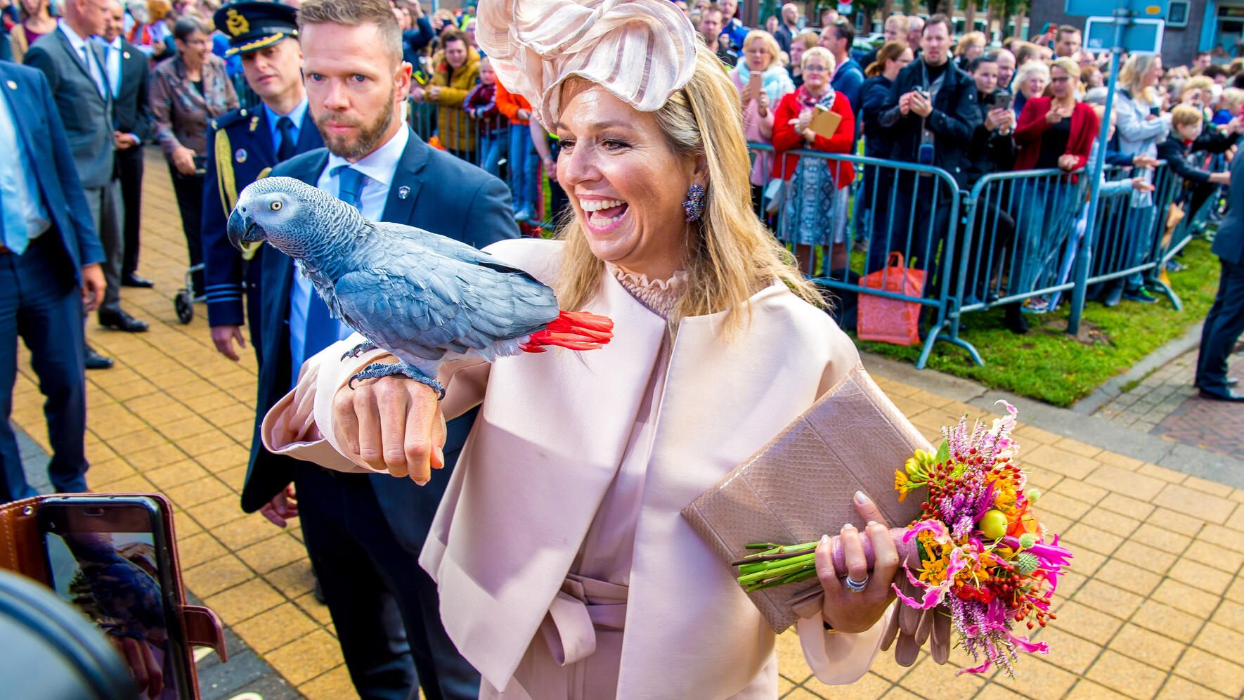 King Willem_Alexander and Queen Maxima during a regional visit to the places Hoogeveen, Westerveld, De Wolden and Meppel in South-West Drenthe. *** Local Caption *** 11122105