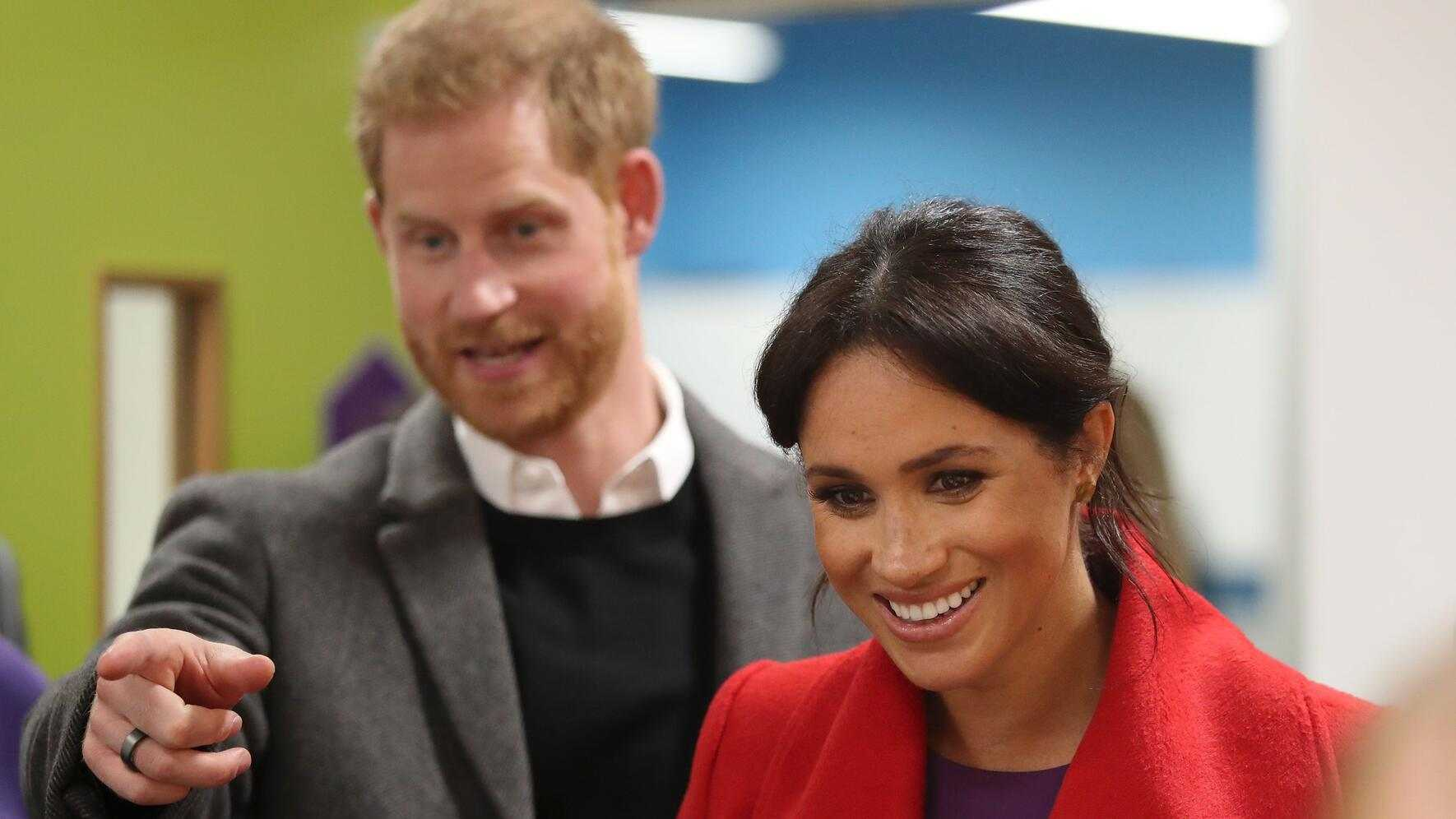 Prince Harry and Meghan Markle visit the Hive, Wirral Youth Zone in Birkenhead, Merseyside, UK, on the 14th January 2019.Picture by Danny Lawson/WPA-Pool//GEORGEROGERS_13.040/Credit:GEORGE ROGERS/SIPA/1901171529 (FOTO: DUKAS/SIPA) *** Local Caption *** 00891245