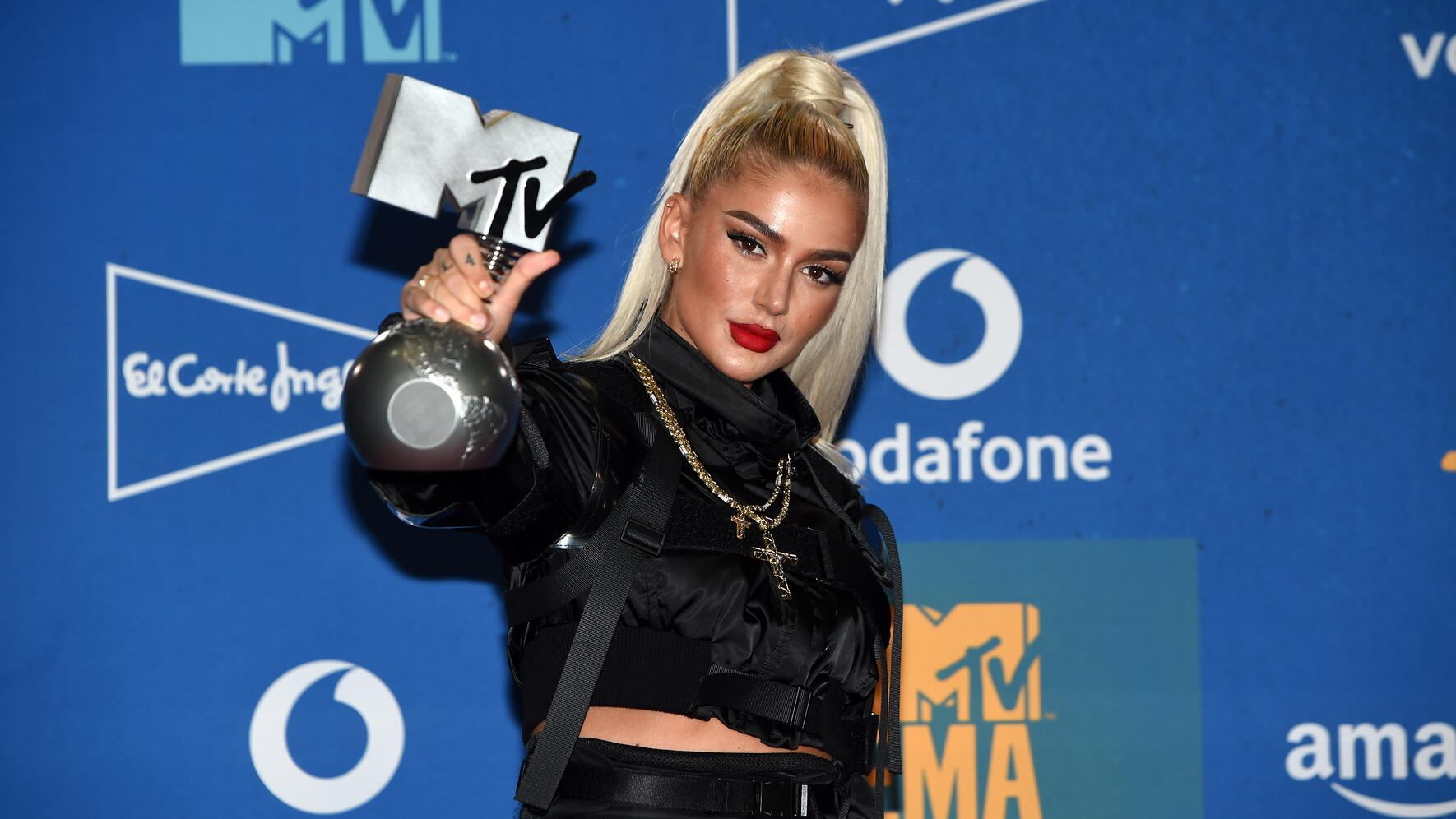 Rapperin Loredana MTV European Music Award 2019