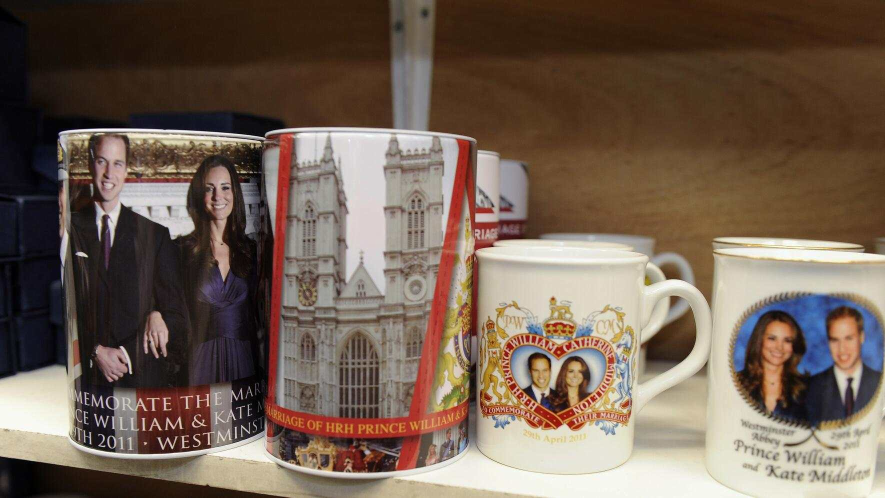 Royal Wedding Will Kate Hochzeit Souvenirs London Aurelia
