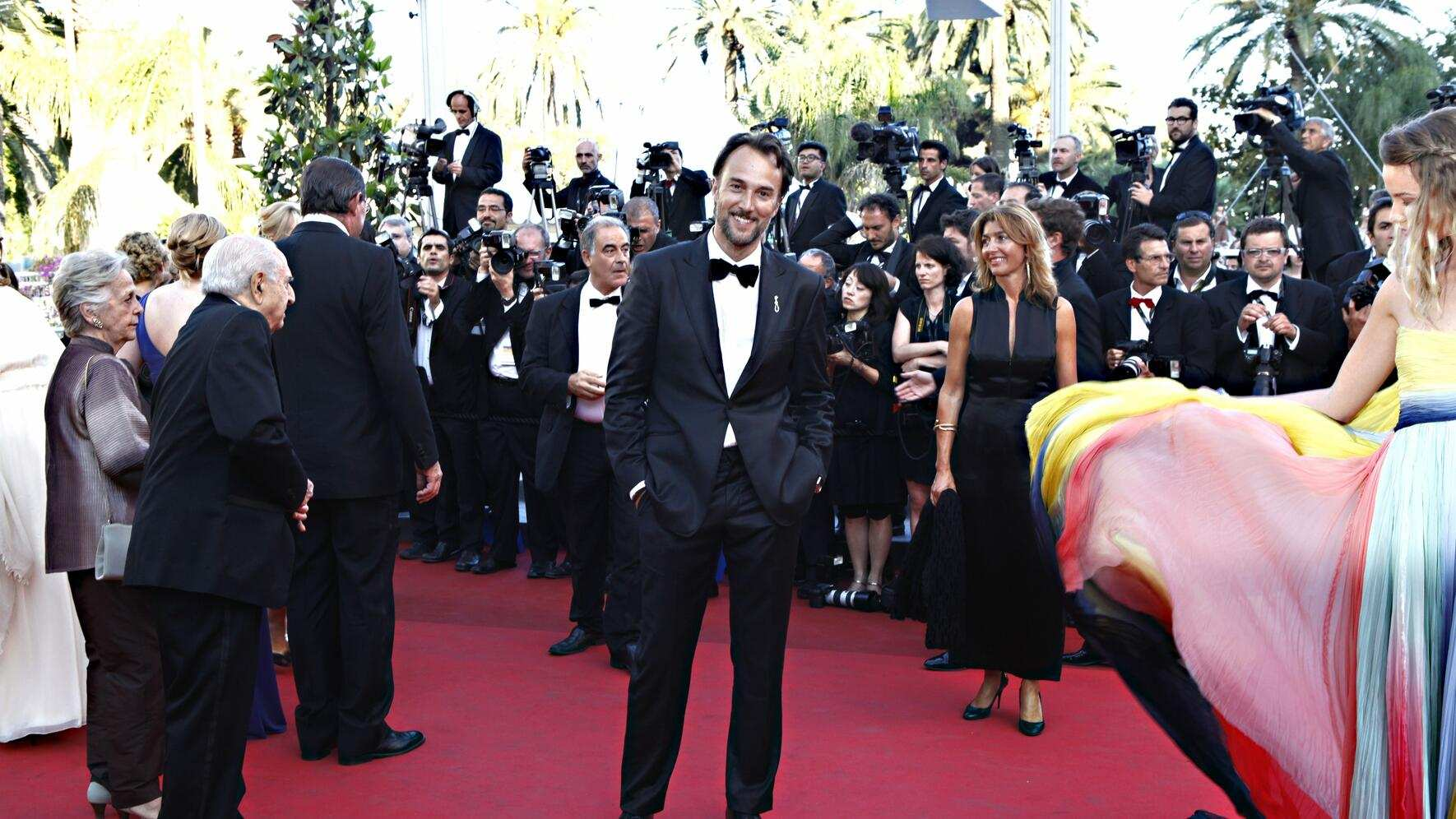 Carlos Leal in Cannes