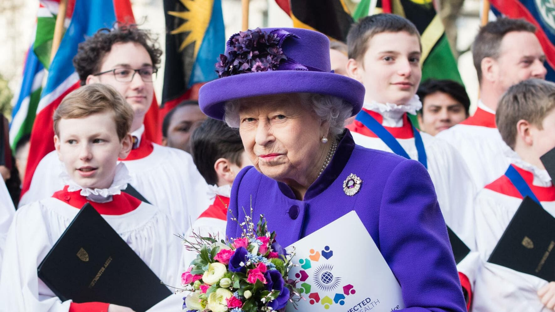 Commonwealth day Queen Elizabeth