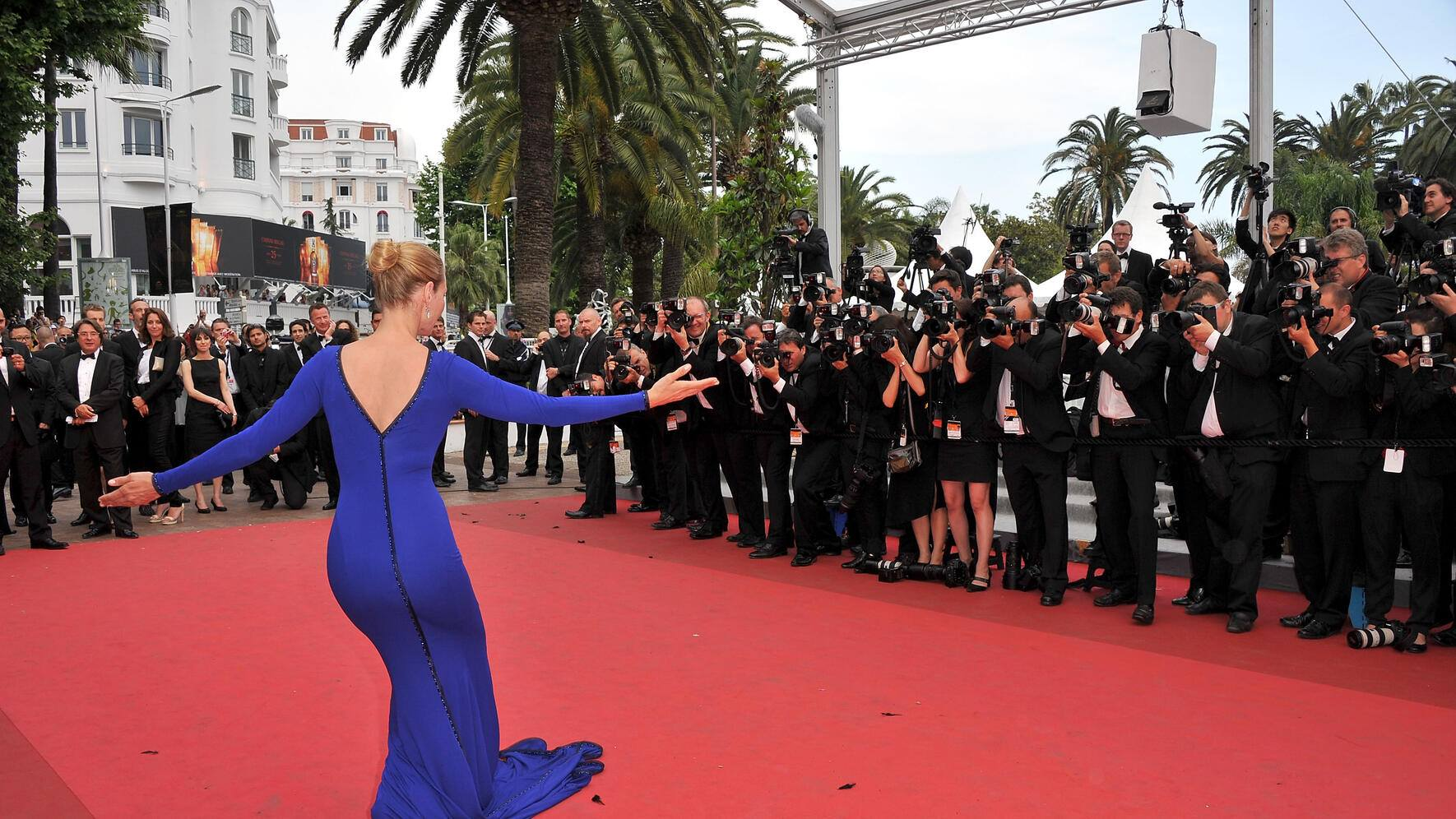 Filmfestival Cannes 2011 Abschlussabend Uma Thurman