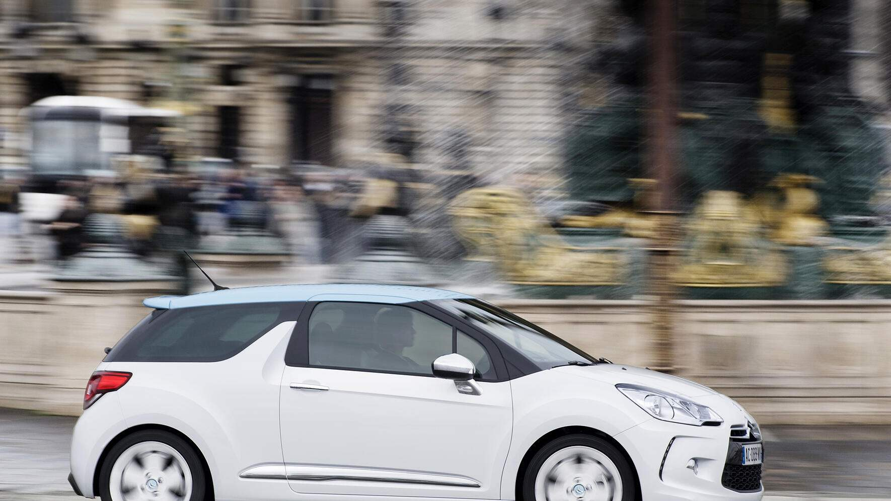 Auto: Citroen DS3 unterwegs