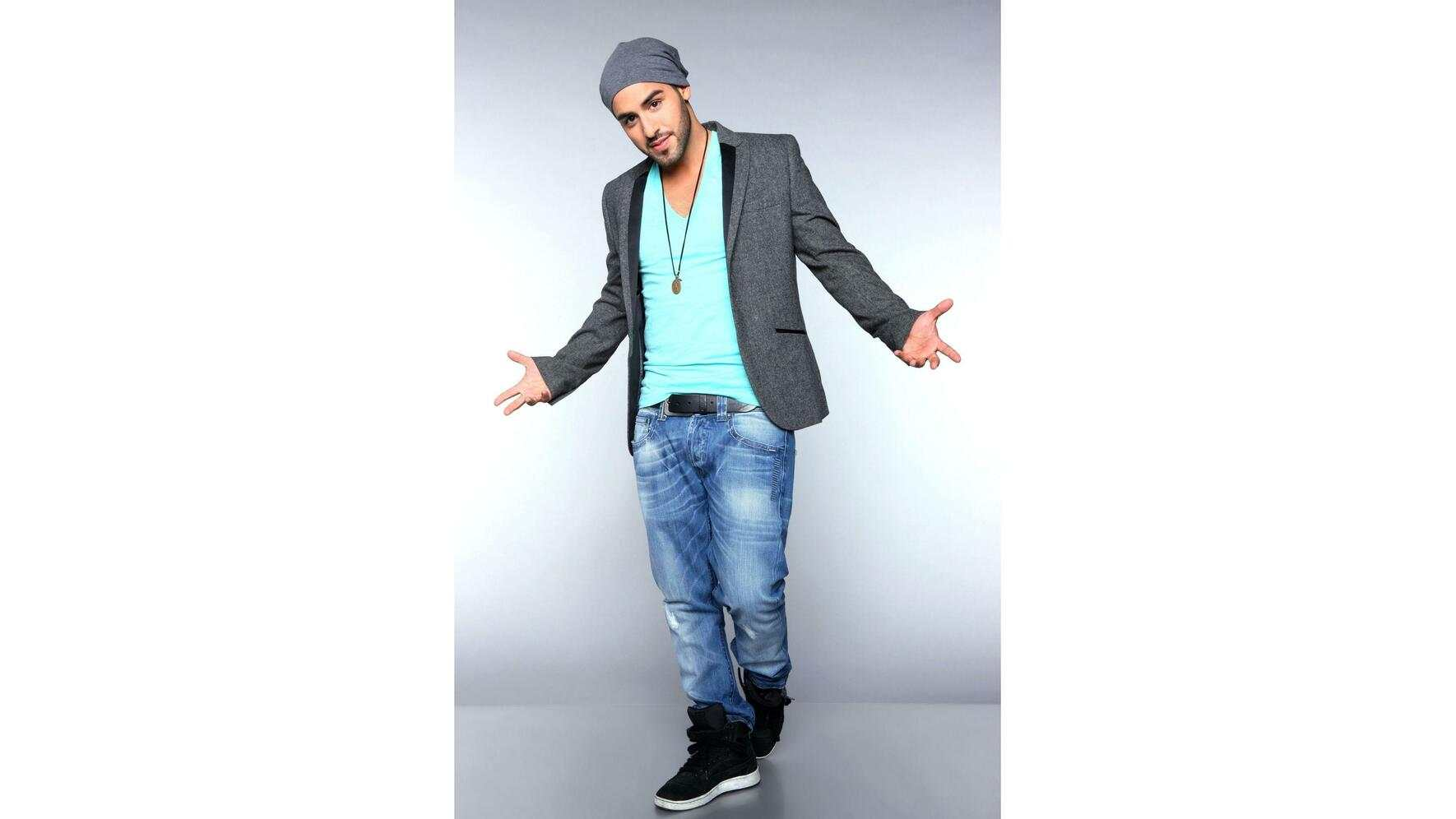 DSDS 2012 Top 10 Kandidaten Mottoshows Hamed Anousheh