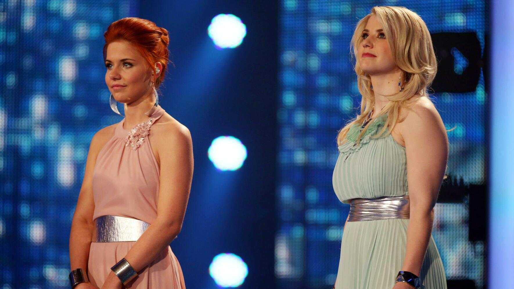 DSDS 2013 Lisa Wohlgemuth Beatrice Egli Finale