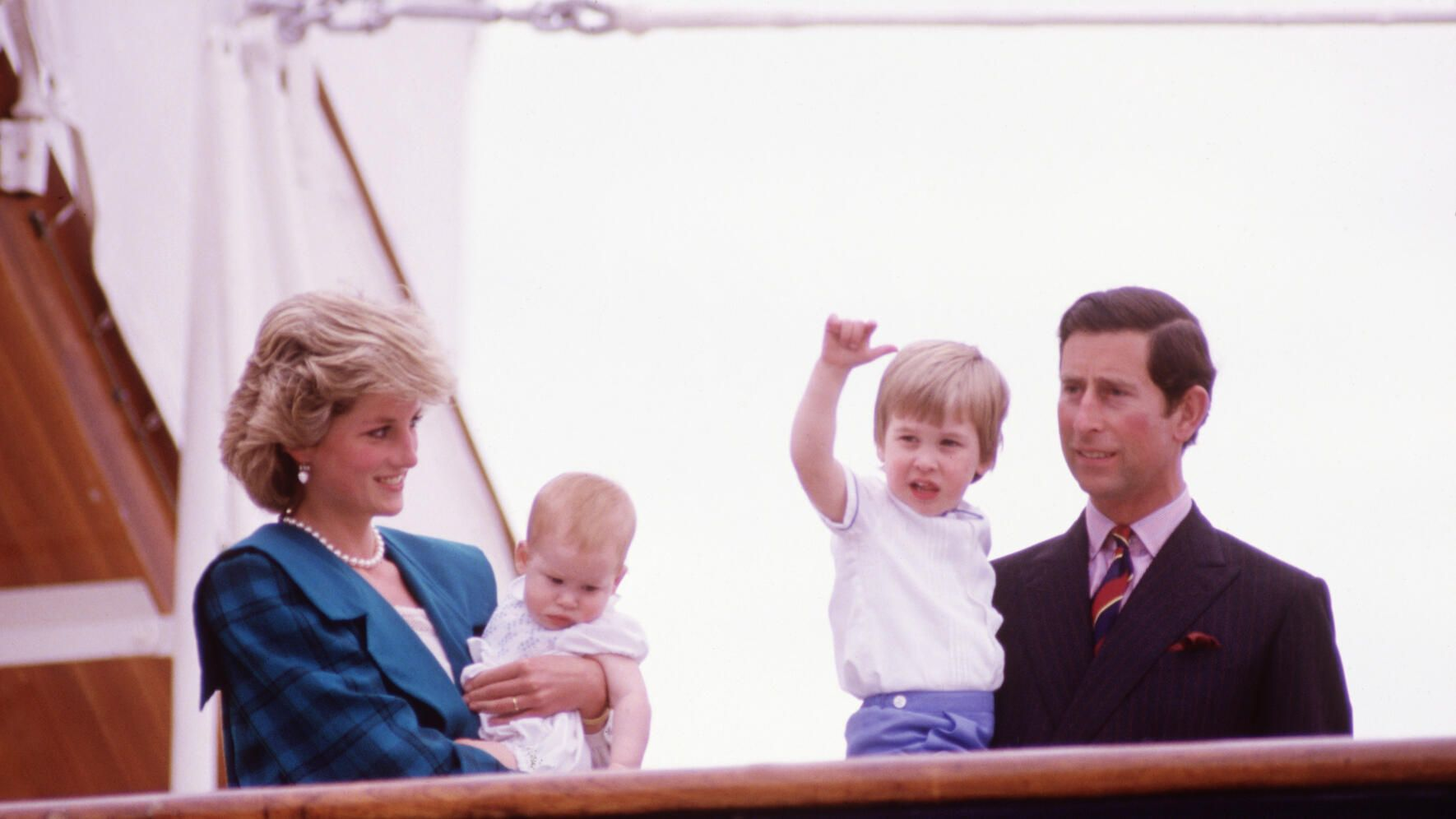 Prinz Charles William Harry Diana