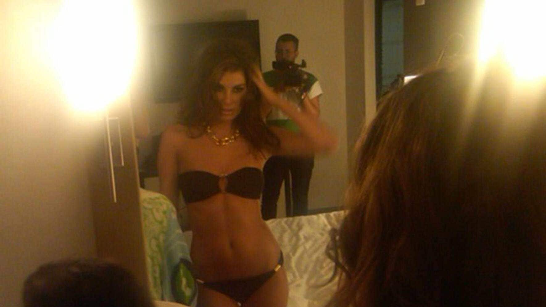 Making Of Angela Martini Bikini Kampagne Shooting New York