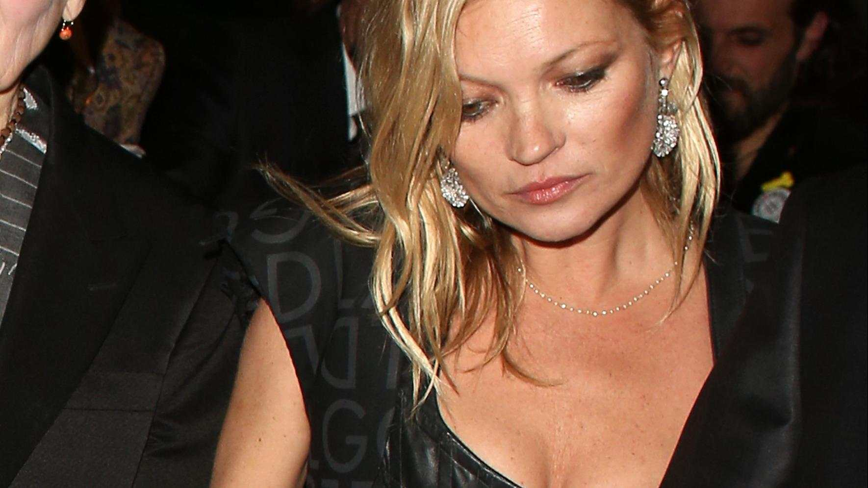 Kate Moss nach Easy Jet Party betrunken Vivienne Westwood