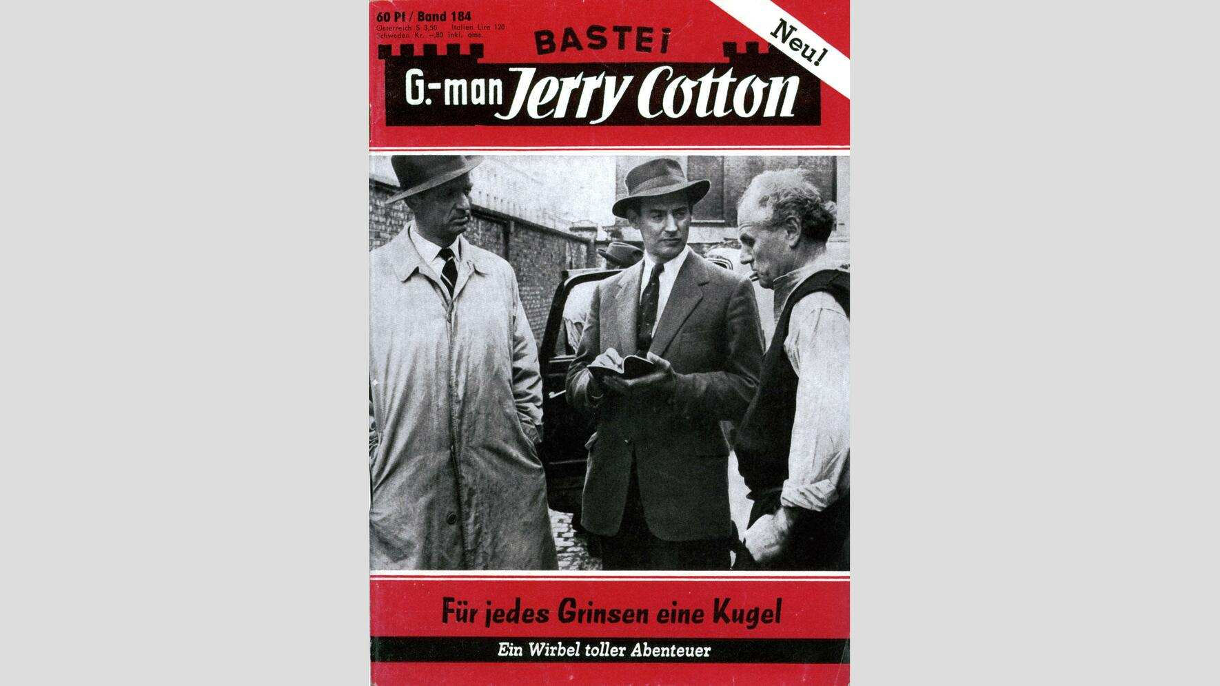 Linsensuppe: Jerry Cotton Cover 3
