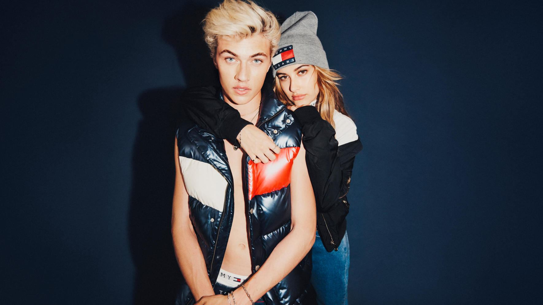 Tommy Hilfiger Hailey Baldwin Lucky Blue Smith