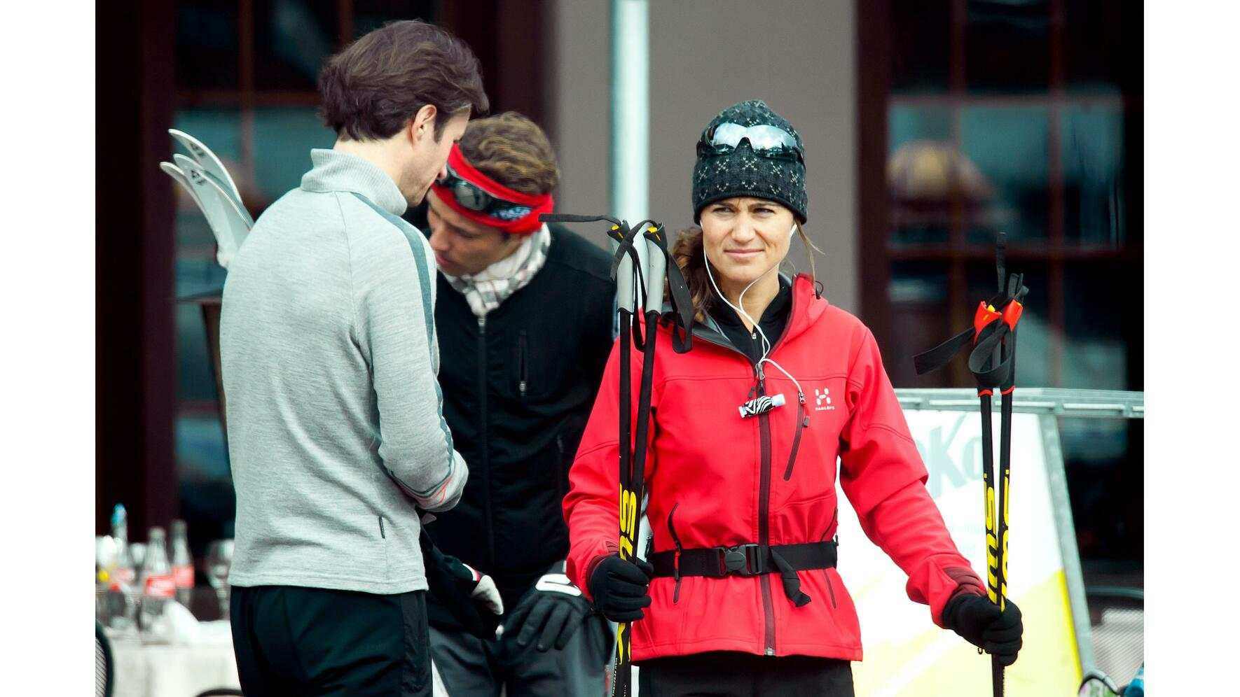 Pippa Middleton in Gstaad