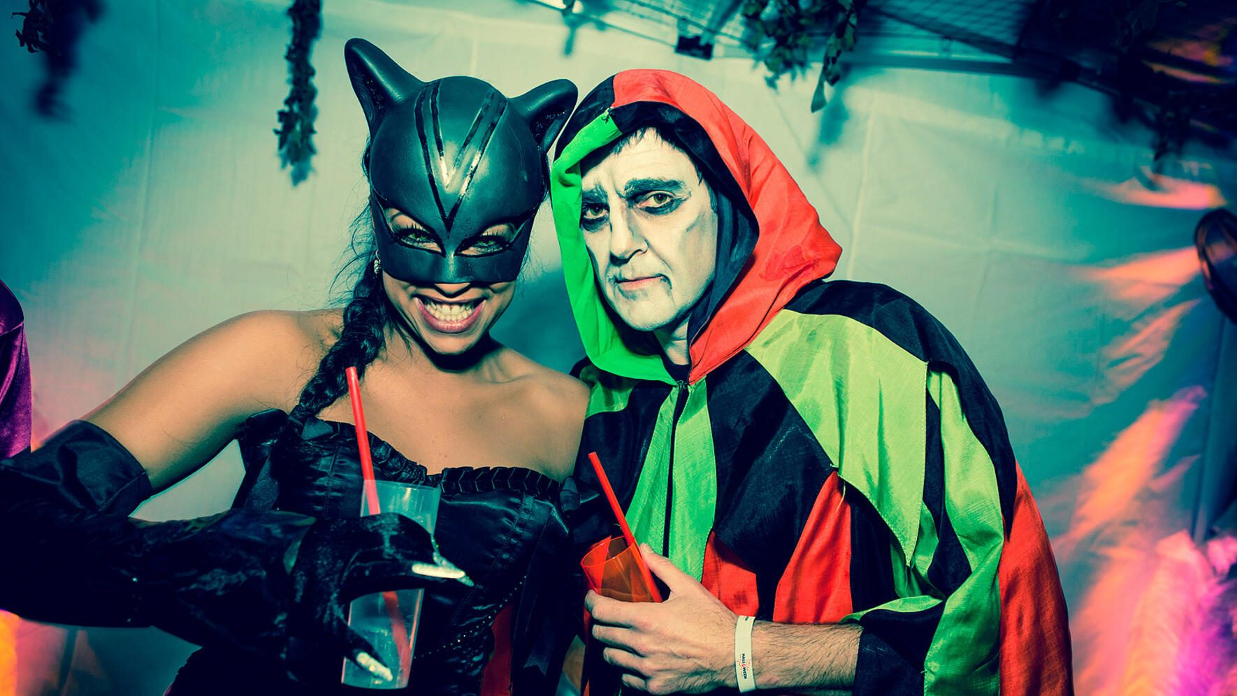 Reto Hanselmanns Halloween-Party Fabienne Louves Roman Kilchsperger