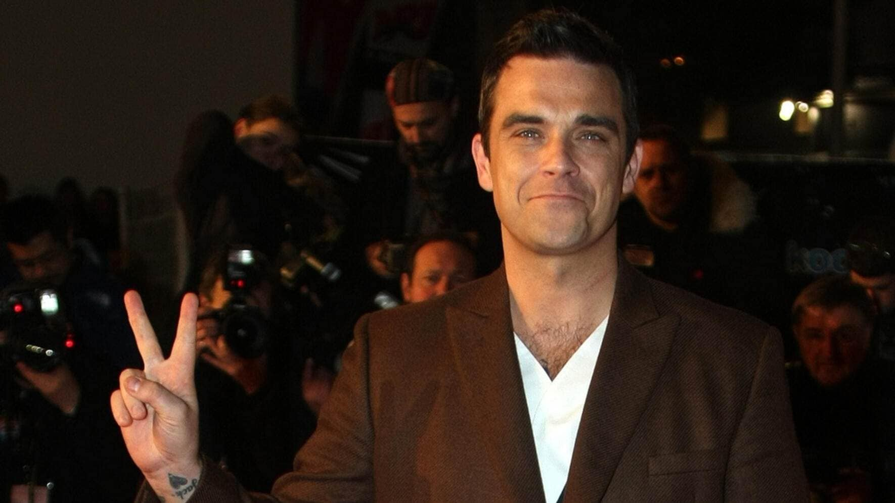 Robbie Williams Comeback zurück