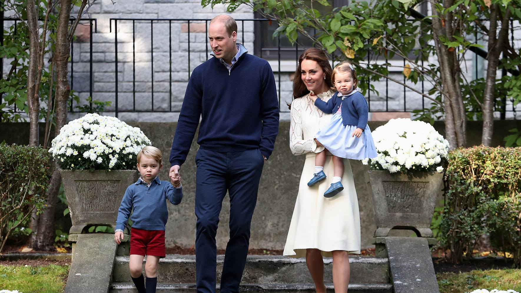 Herzogin Kate Catherine Middleton Charlotte George William Royal Tour Canada Victoria 2016