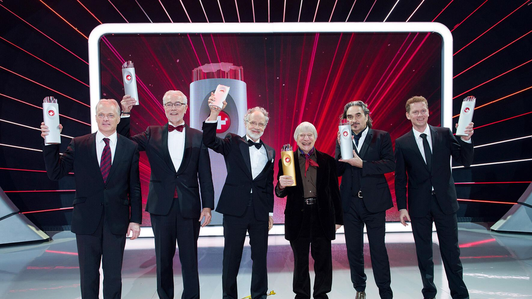 SwissAward 2013 Roter Teppich