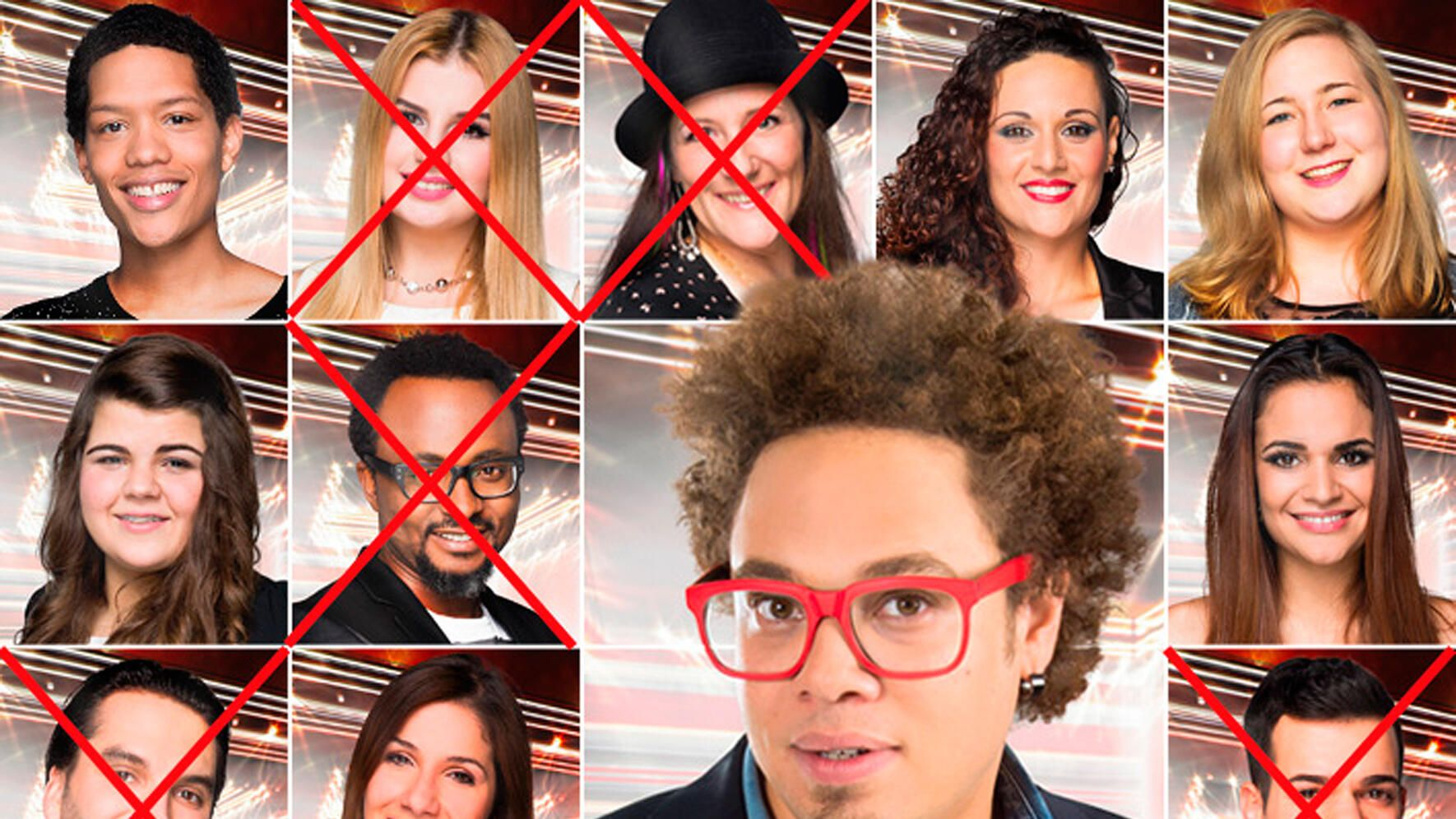 The Voice of Switzerland 2014: Teams nach 2. Battle-Show: Marc Sway