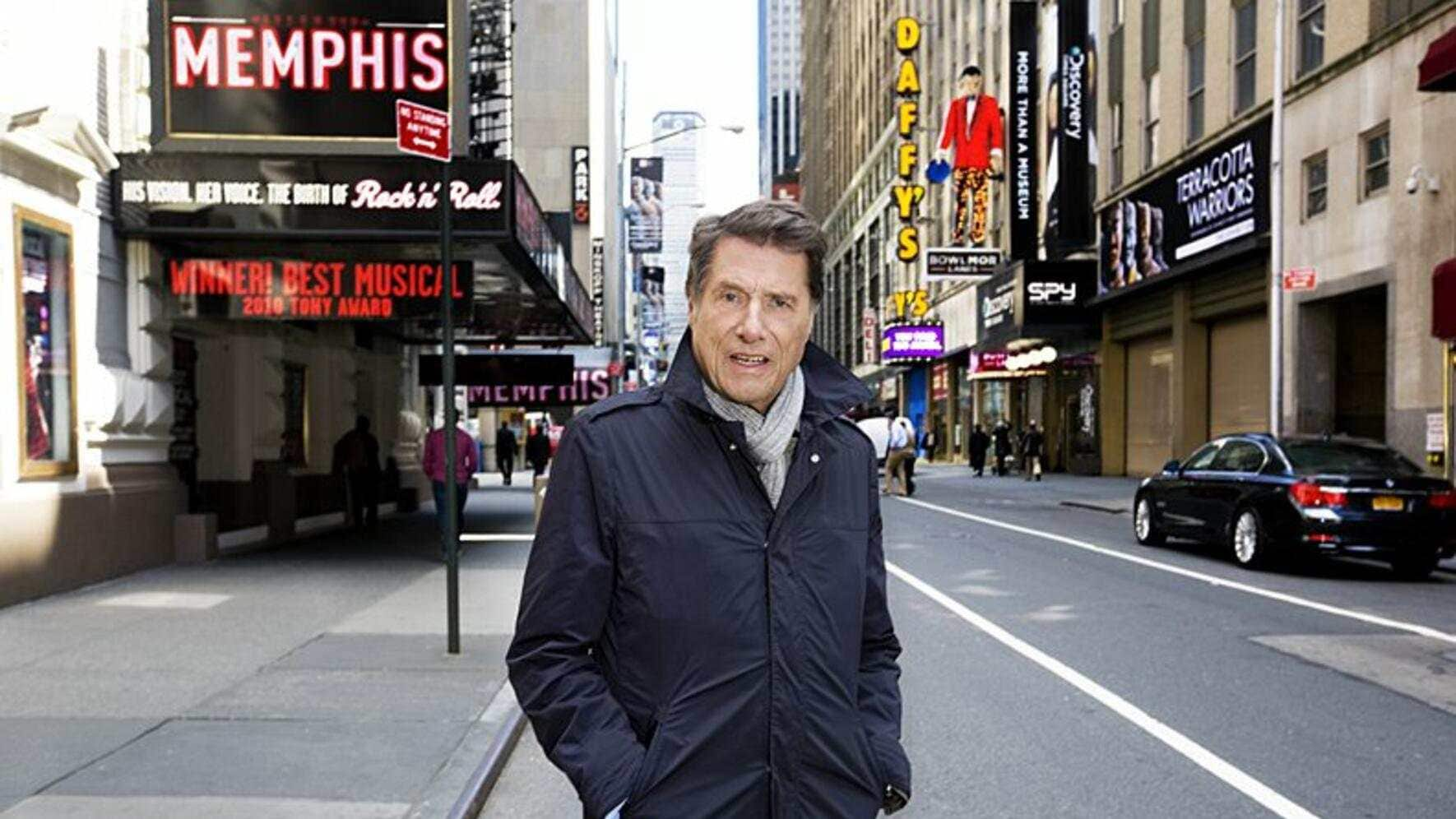 Udo Jürgens in New York Broadway