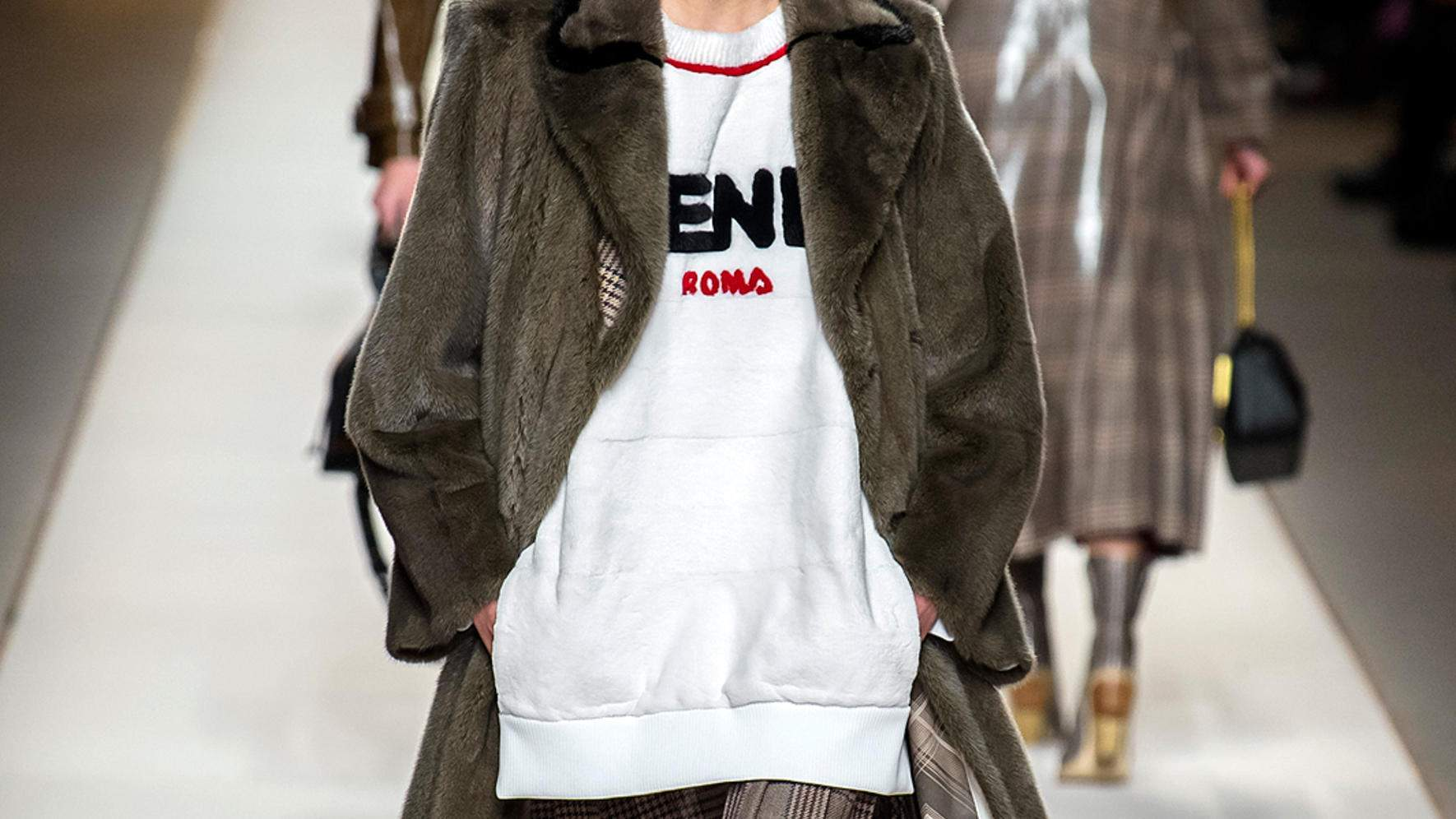 Fendi Herbst/Winter 2018 in Mailand