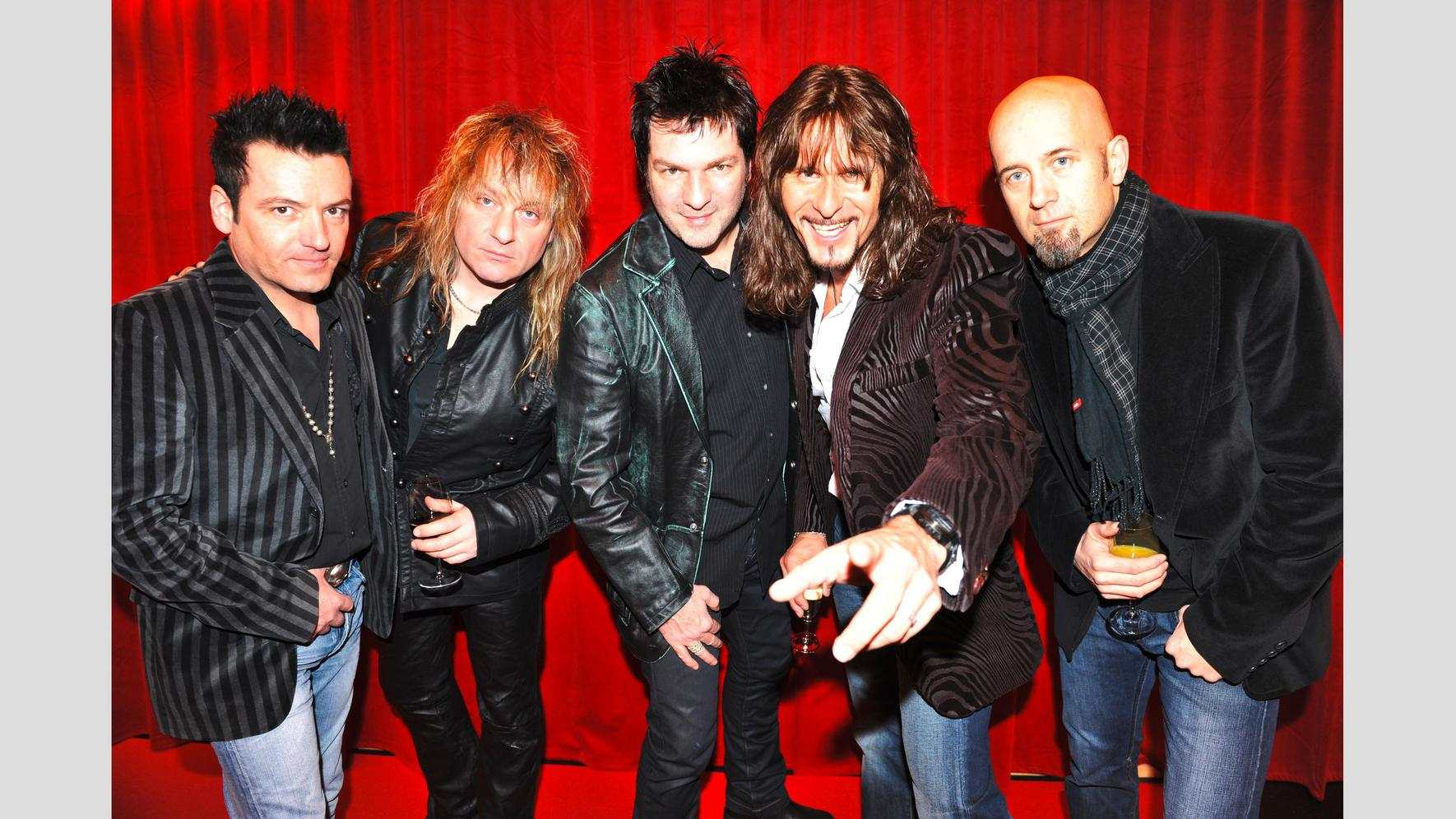 Die Tessiner Rock-Band Gotthard