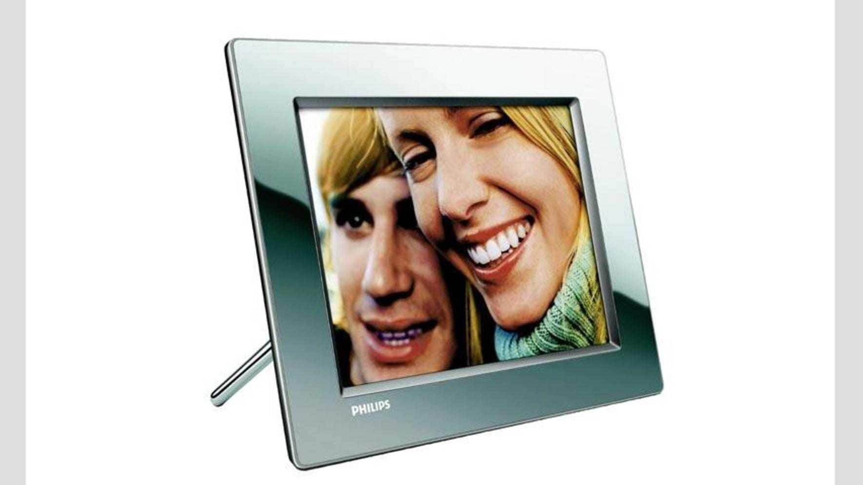Der Philips Wireless Digital Photoframe 8FF3Wmi empfängt Bilder drahtlos vom Computer. CHF 349