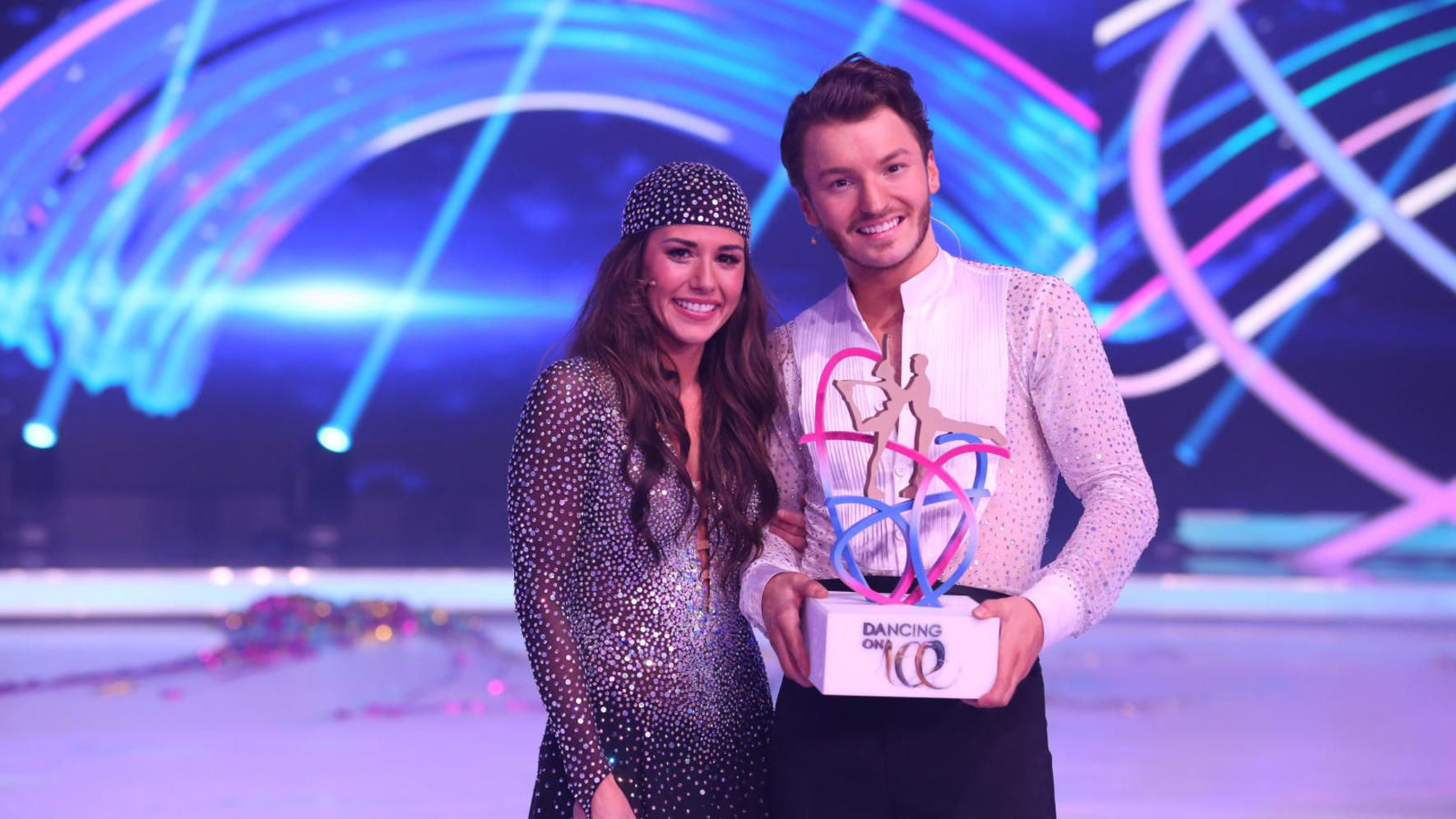 Sarah Lombardi gewinnt «Dancing on Ice»