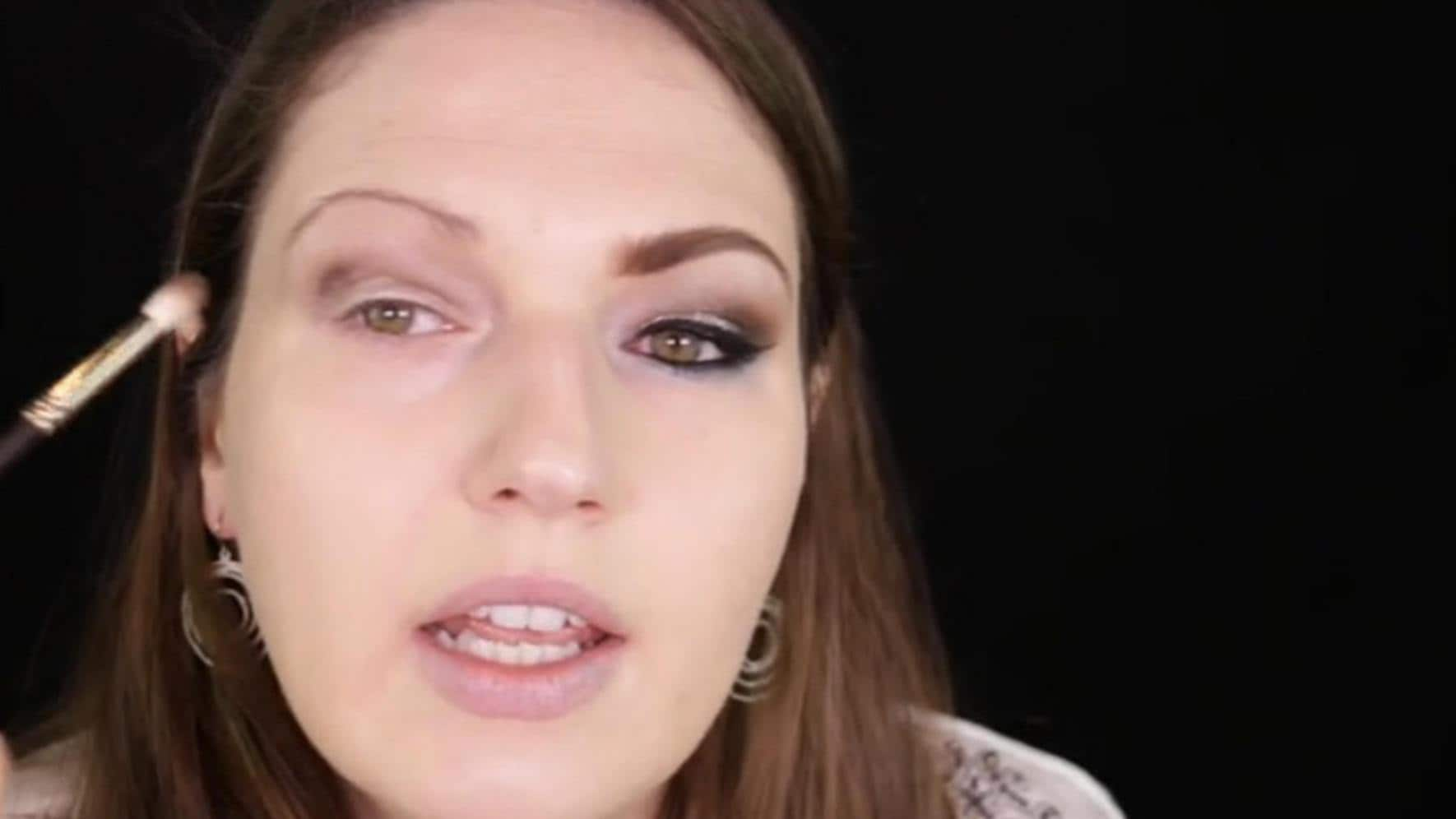 Julia Graf Youtube Facebook Make-up Tutorial schminken Silvester-Look