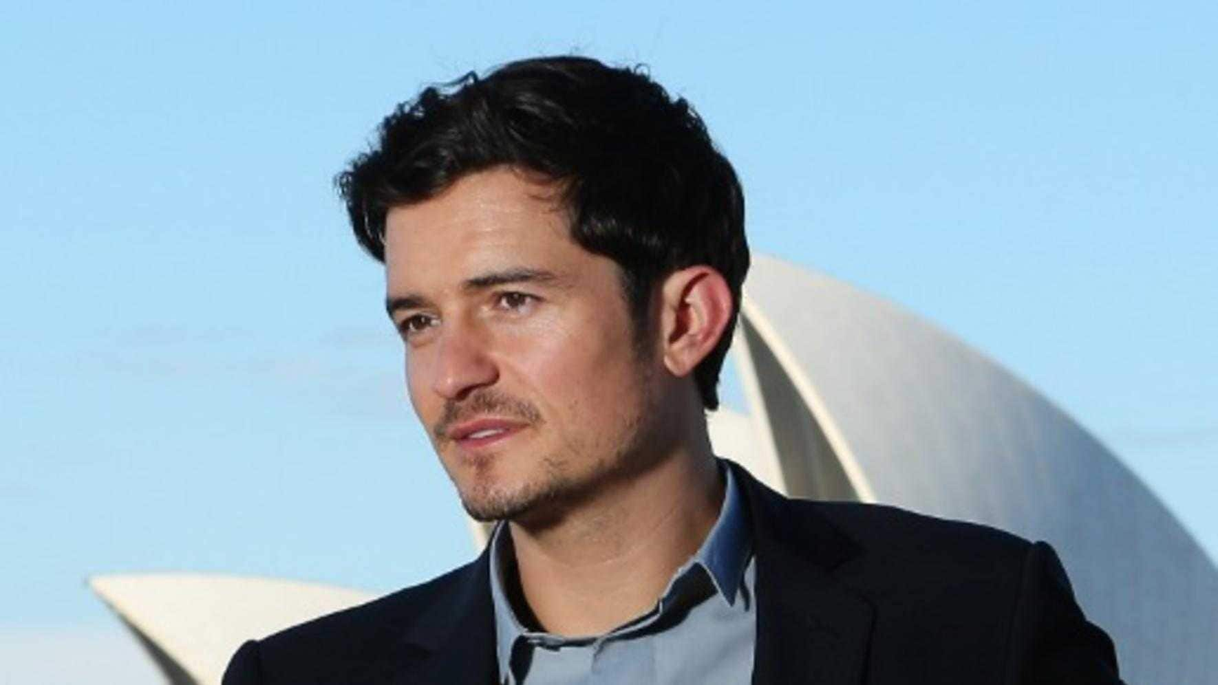 Orlando Bloom vor Oper in Sydney