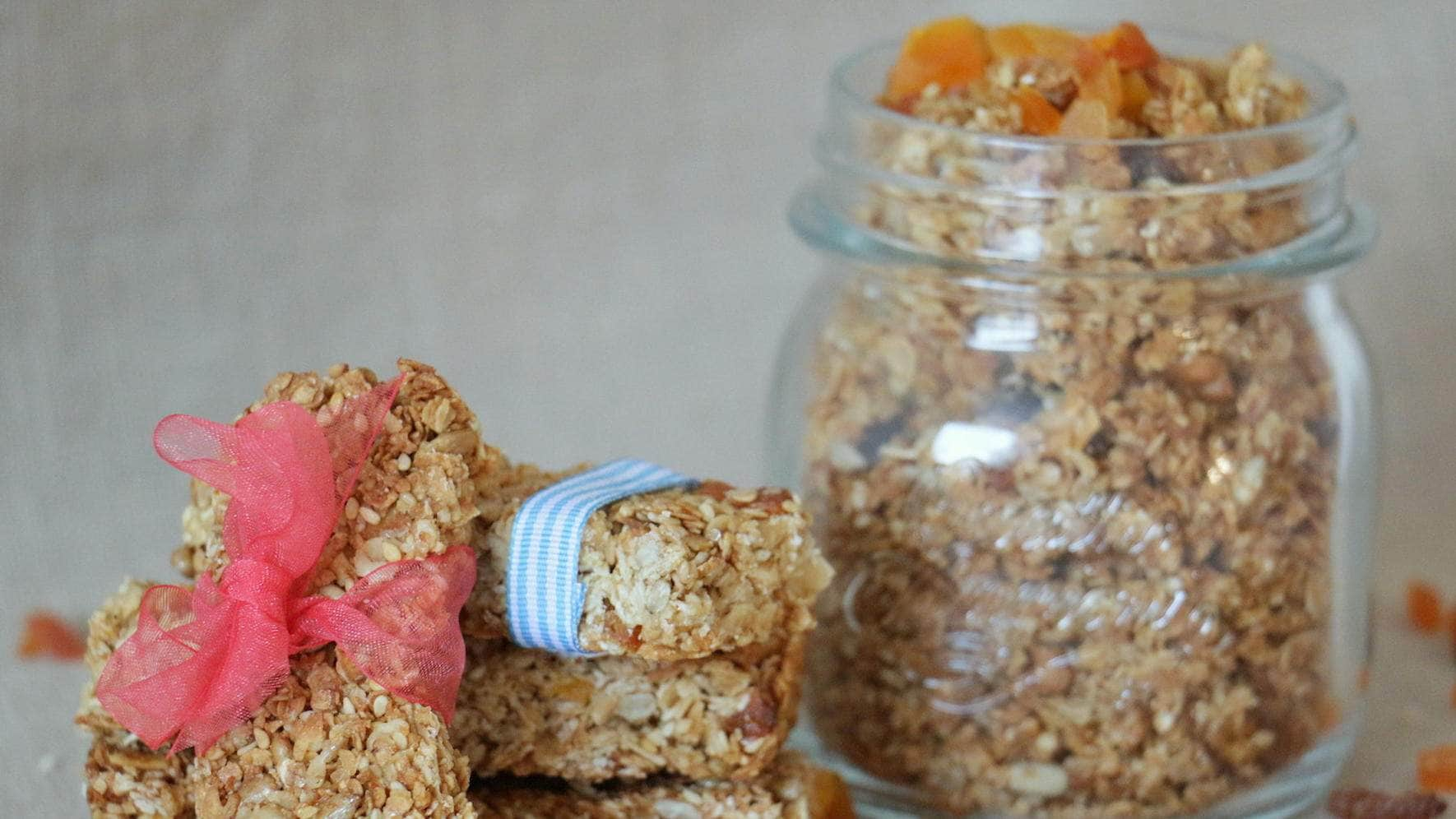 Vegan Rezepte kochen Granola-Bar Riegel Blog Zoe Torinesi cookinesi