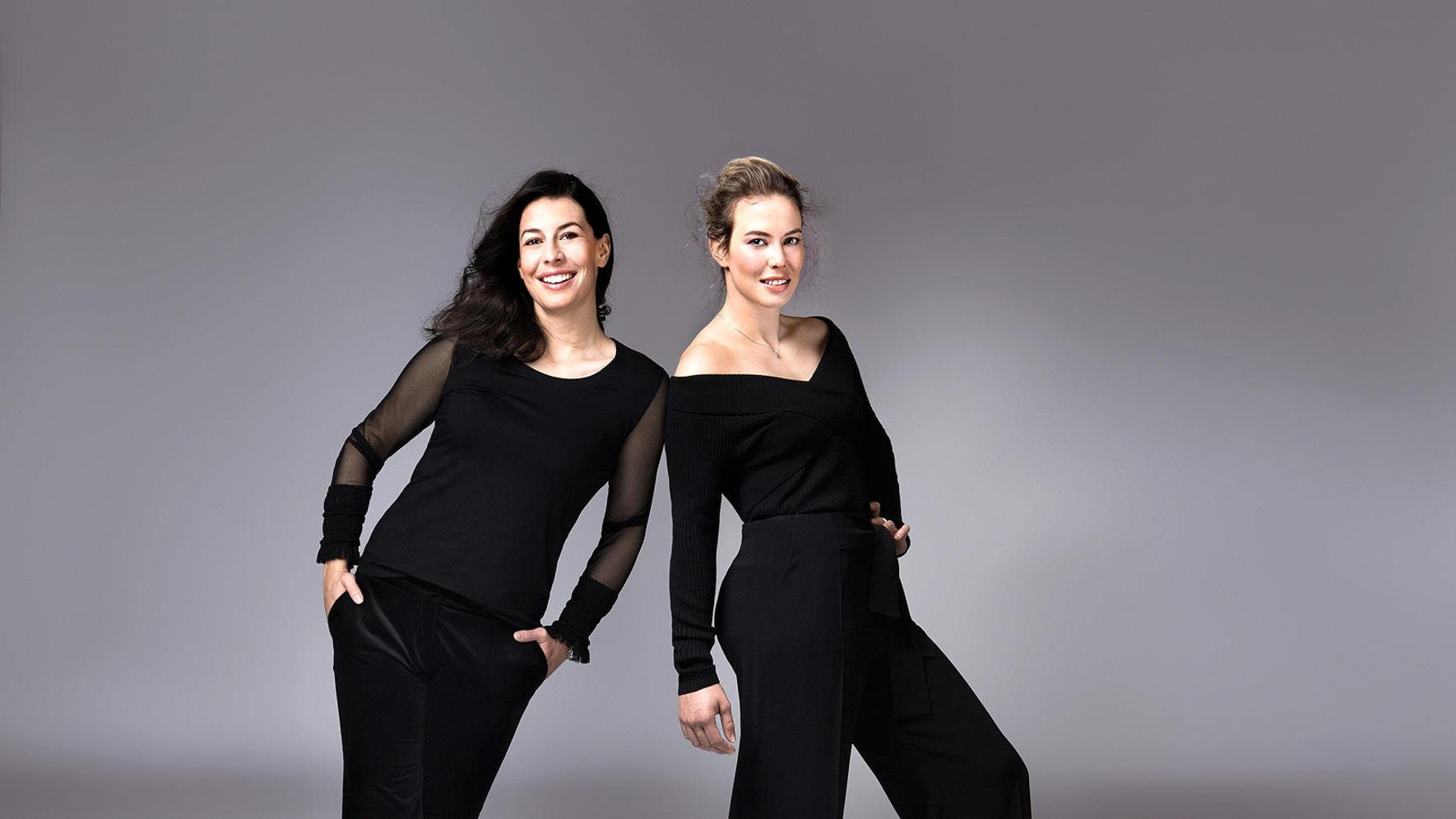 Dominique und Michelle Gisin