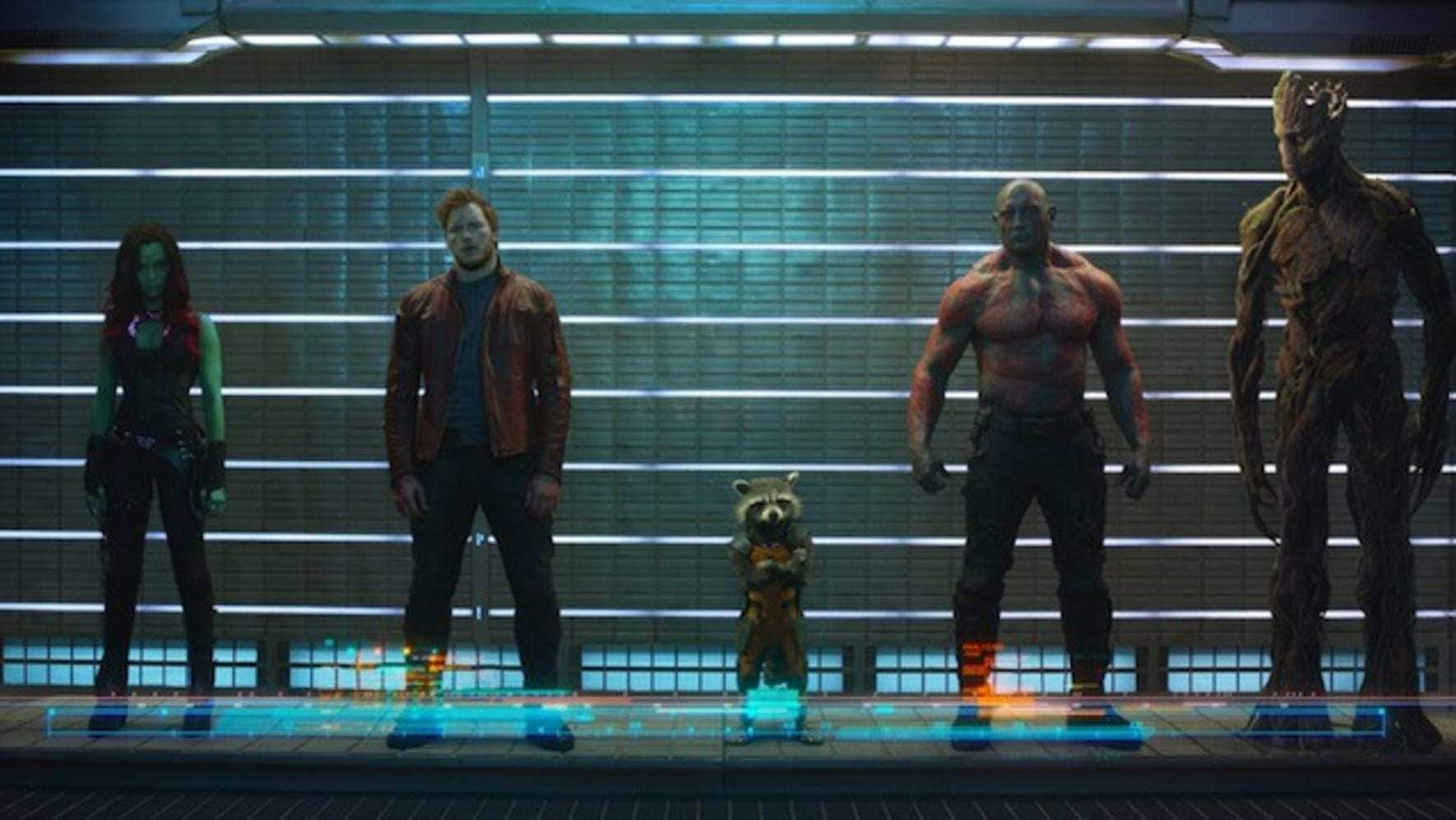 Ein bunter Haufen Helden: «Guardians of the Galaxy».