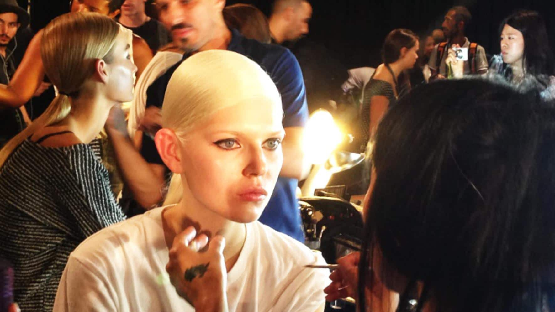New York Fashion Week Backstage Diesel Black Gold