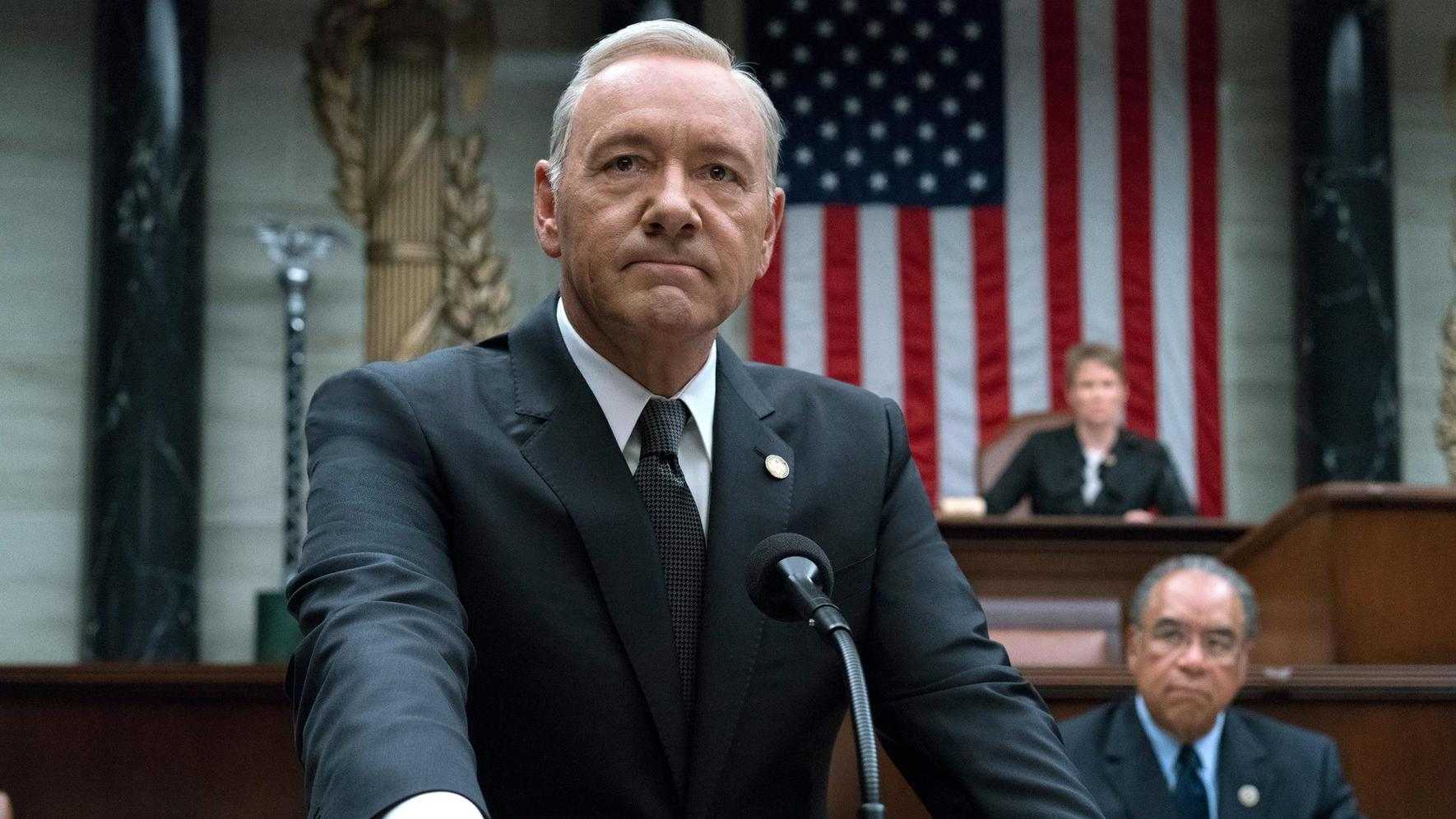 Kevin Spacey als Präsident Underwood in House of Cards