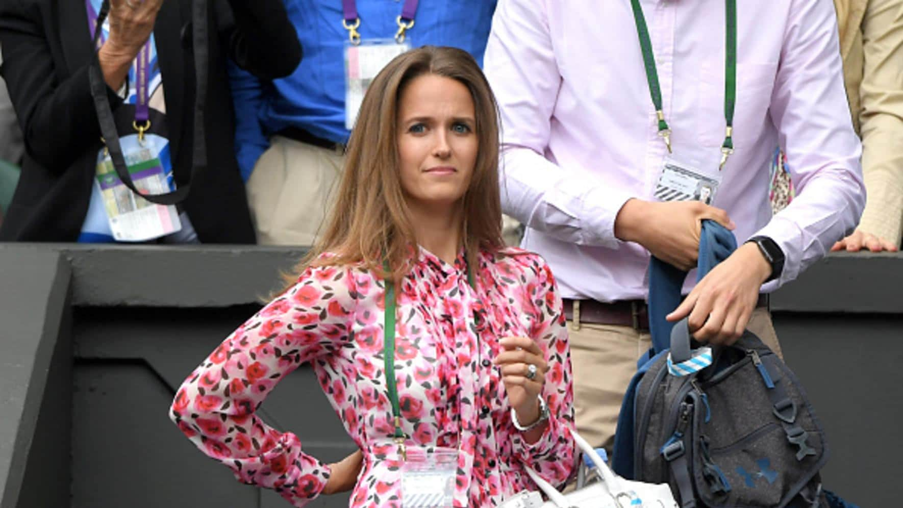 Kim Sears Baby Wimbledon Andy Murray