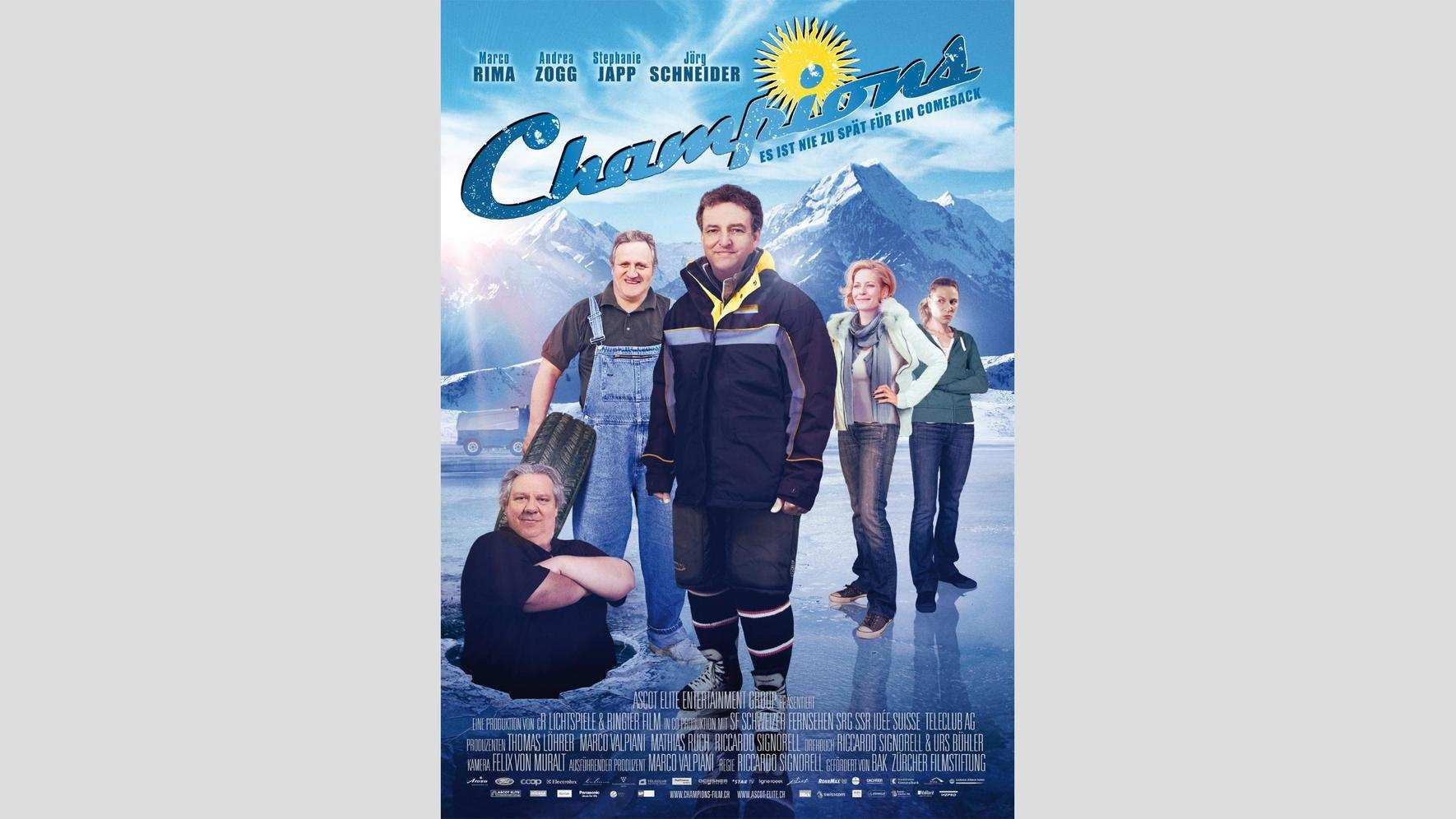 Champions (2010) Filmposter