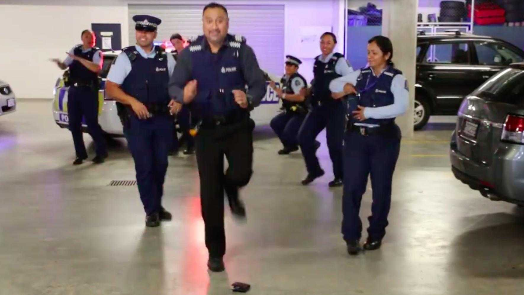 Running Man Challenge Song NY Police NYPD Video Facebook