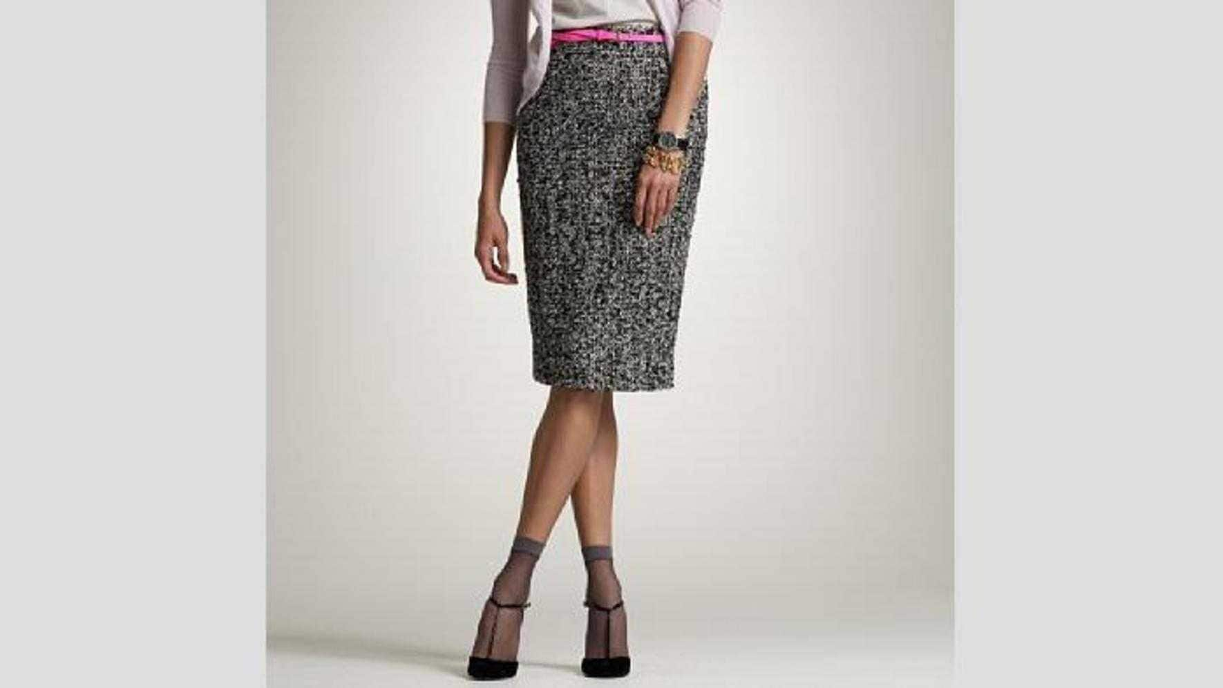 JCrew Catalogue ankle stocking with heels