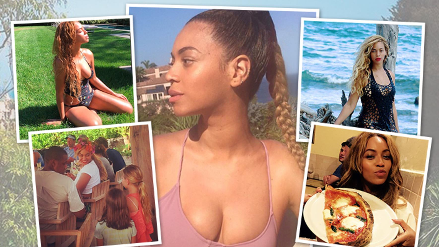 Beyoncé (Single Ladies) Ferien mit Blue Ivy & Jay Z Hawaii, Haiti, Rom