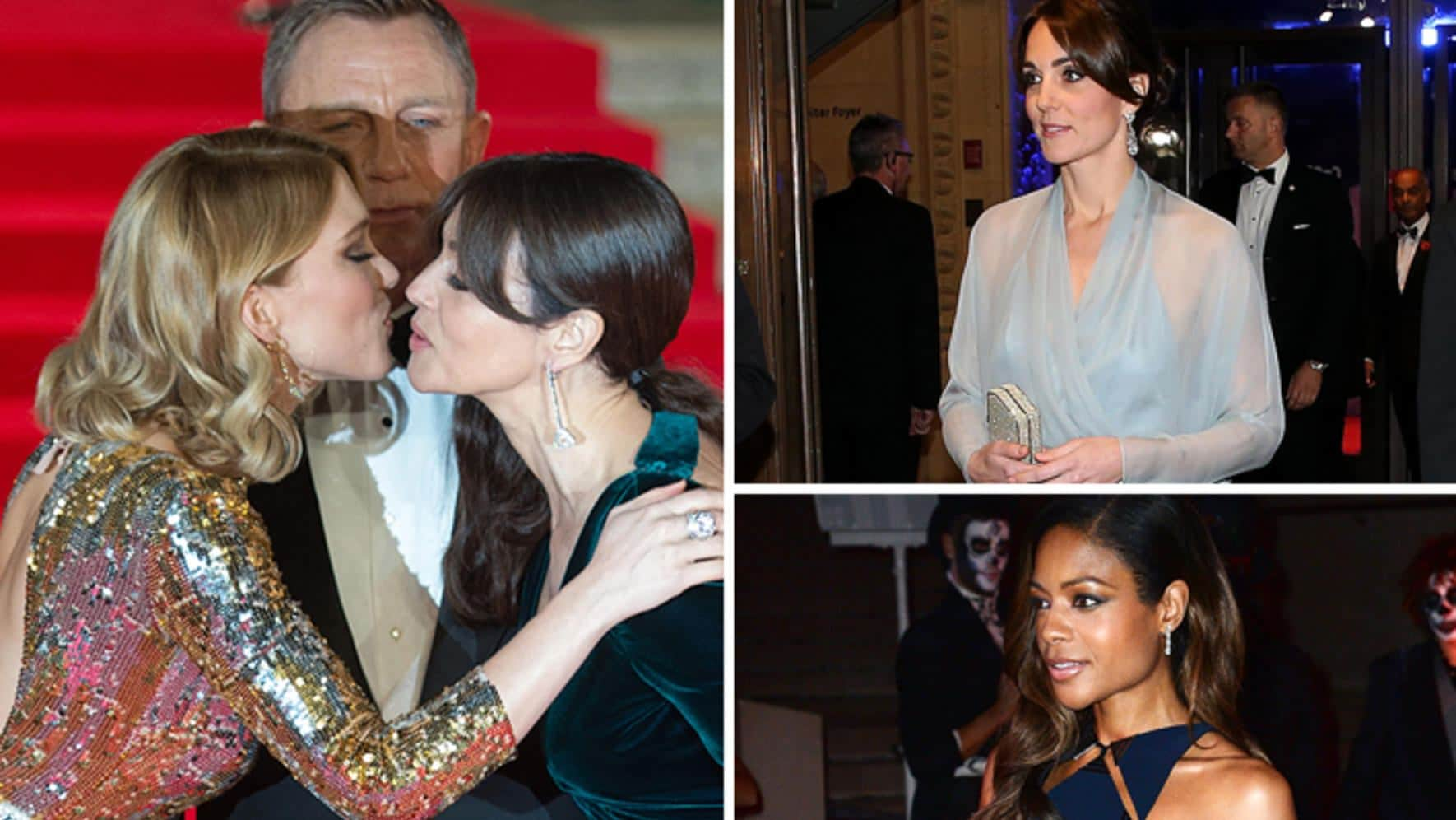 James Bond Spectre Filme Premiere London Kate Middleton Daniel Craig