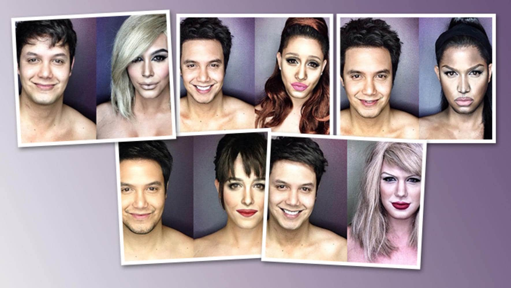 Paolo Ballesteros Instagram Account Pochoy_29 Make-up-Artist