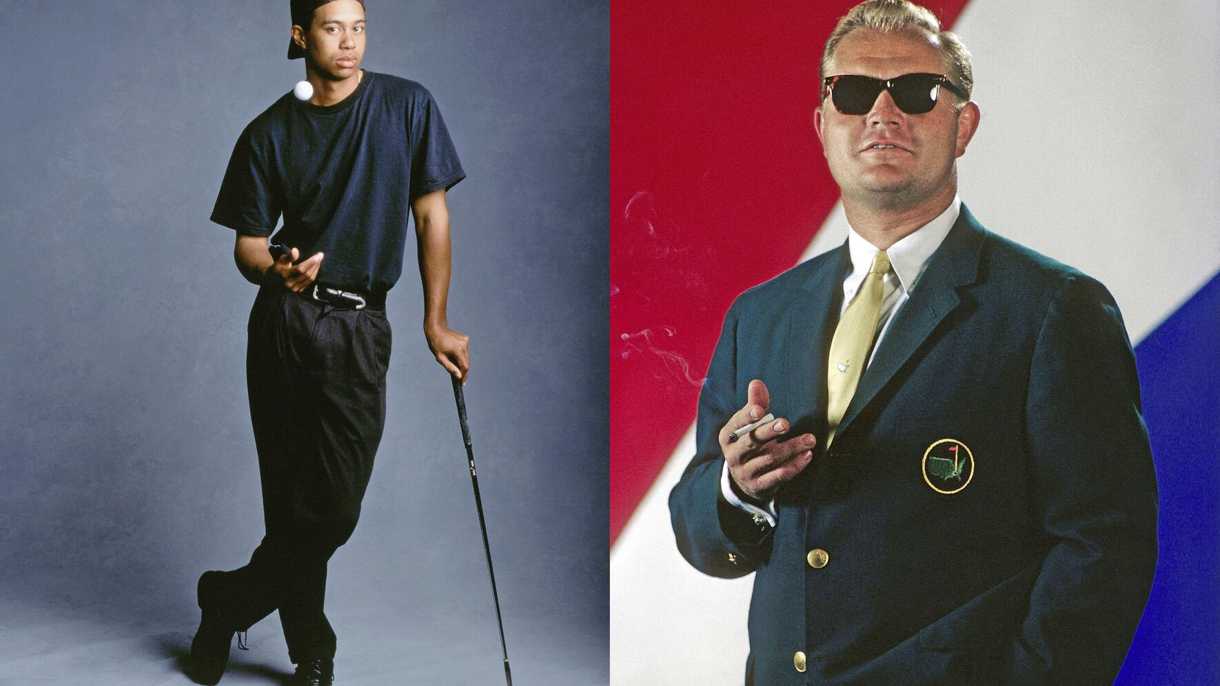 Tiger Woods vs. Jack Nicklaus