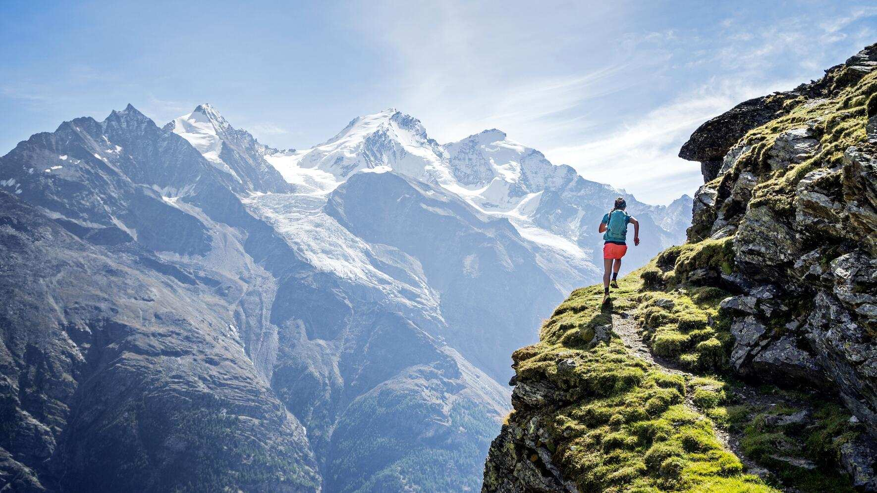 Trail running Wallis
