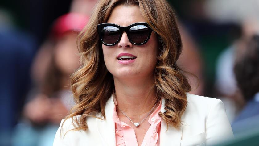 Wimbledon is canceled: Mirka Federer's sunglasses collection