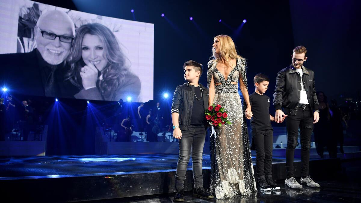 LAS VEGAS, NEVADA - JUNE 08: Celine Dion performs during the final show of her Las Vegas residency at The Colosseum at Caesars Palace on June 08, 2019 in Las Vegas, Nevada. (Photo by Denise Truscello/Getty Images for AEG)